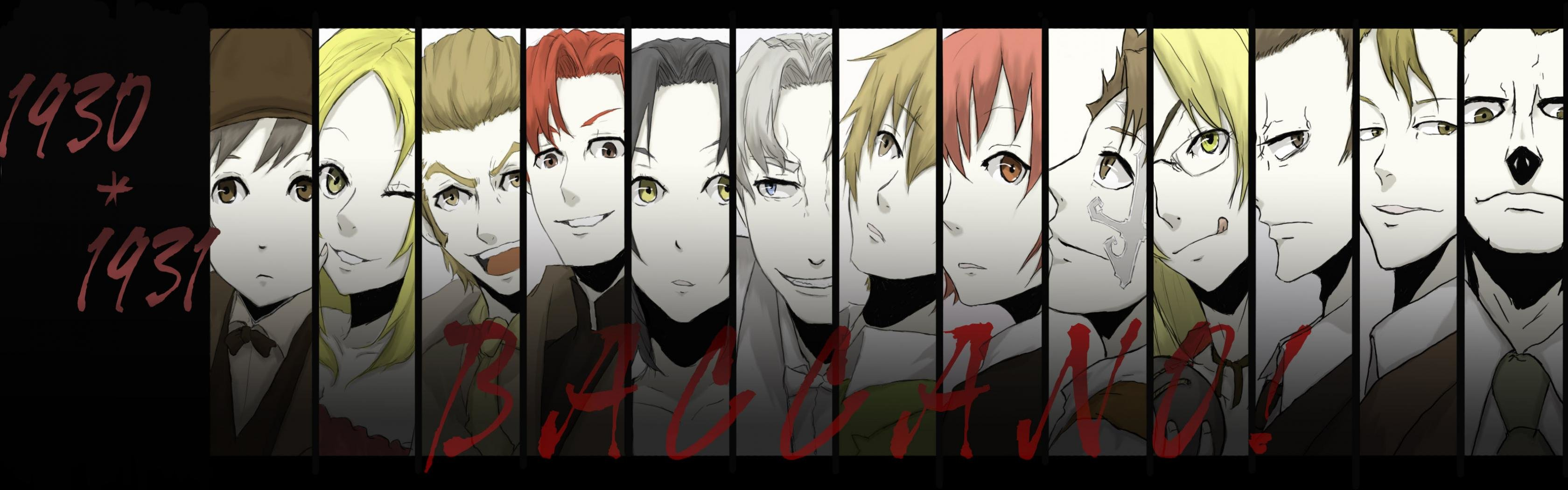 Free download Baccano! wallpaper ID:324379 dual monitor 1680x1050 for desktop