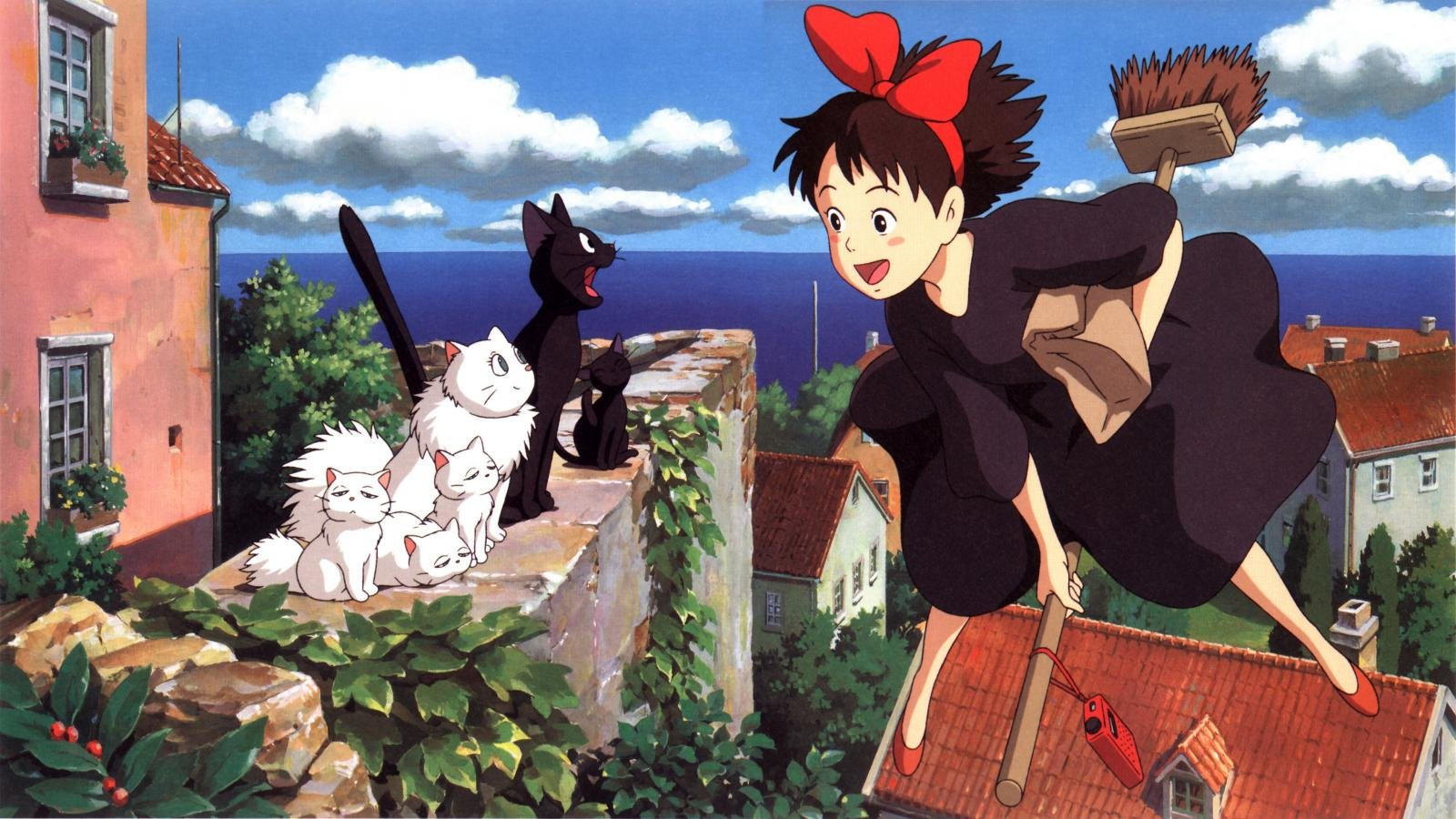Download hd 1600x900 Kiki's Delivery Service computer background ID:360374 for free