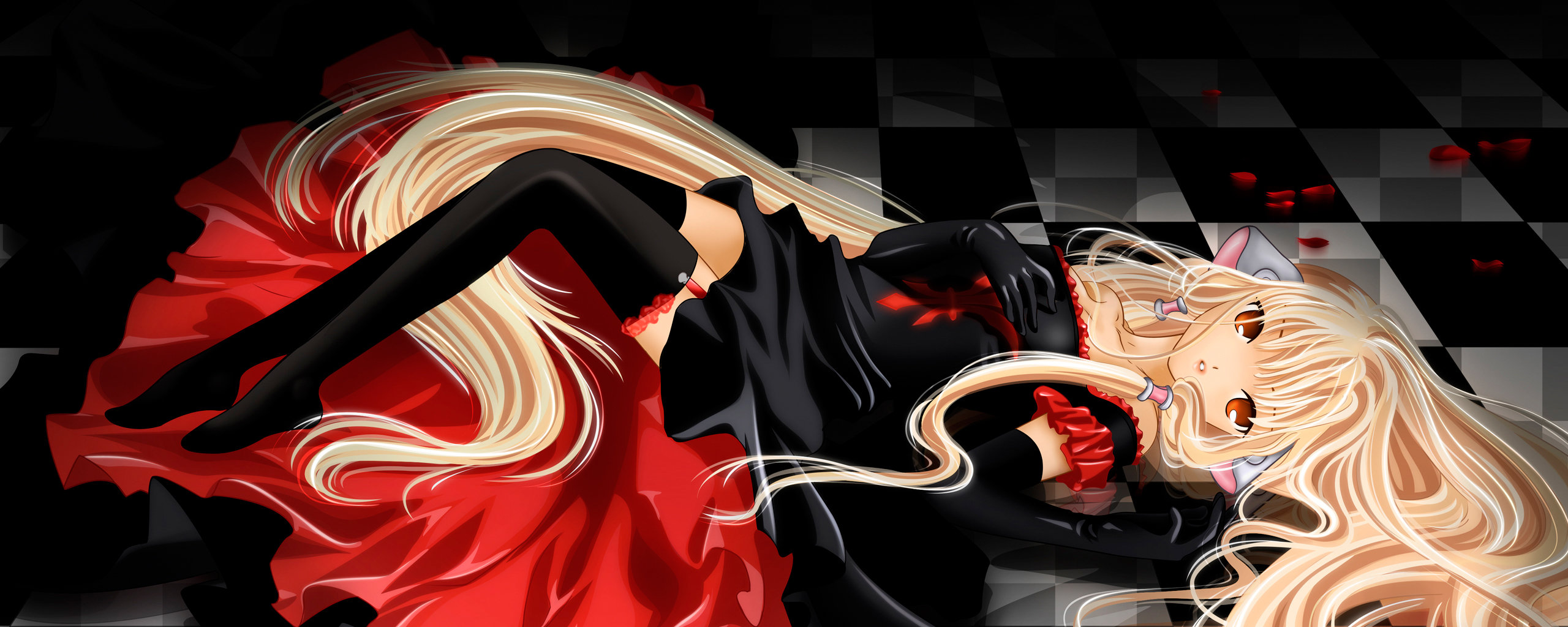Free Chobits high quality background ID:149668 for dual monitor 2569x1024 computer