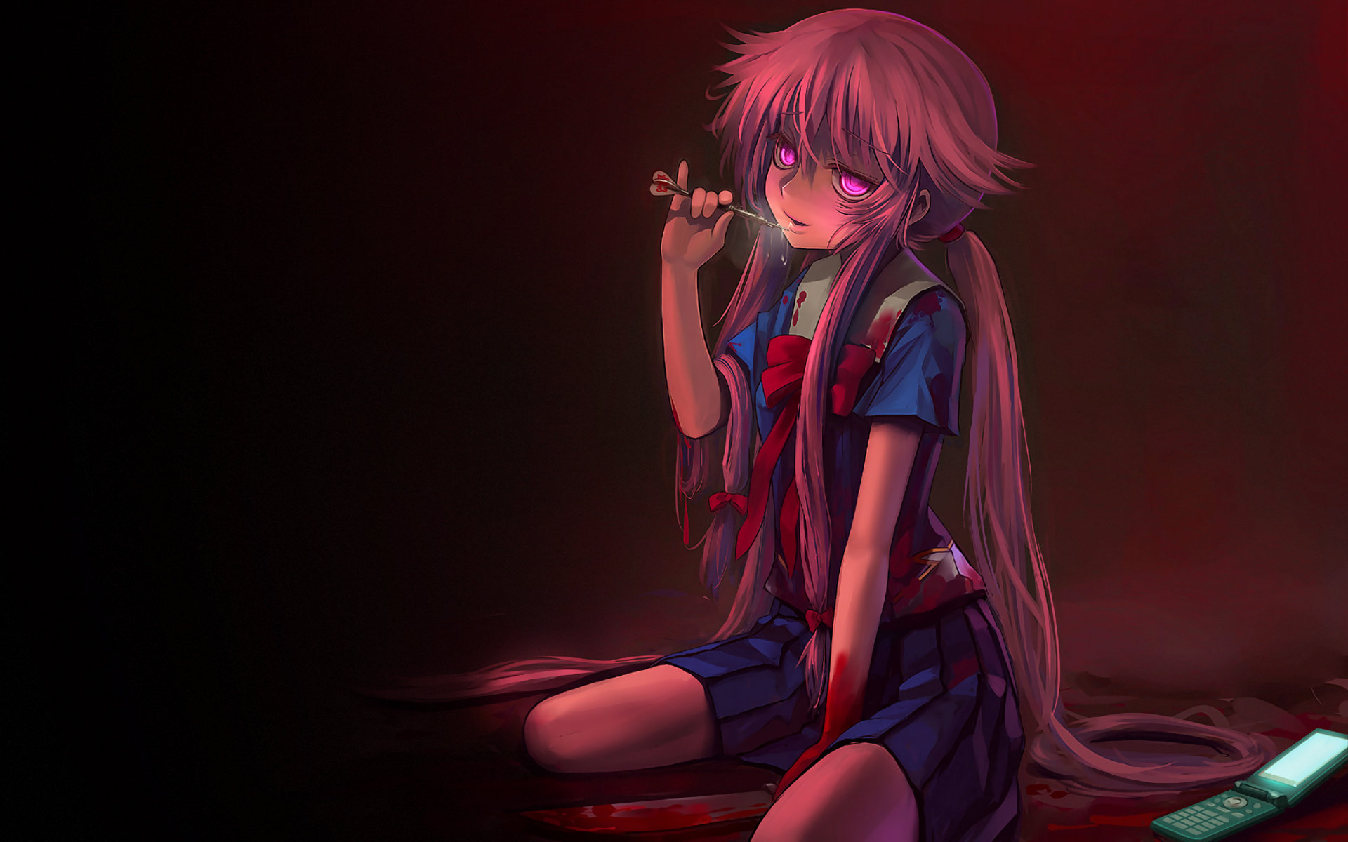 Best Mirai Nikki background ID:189880 for High Resolution hd 1920x1200 desktop