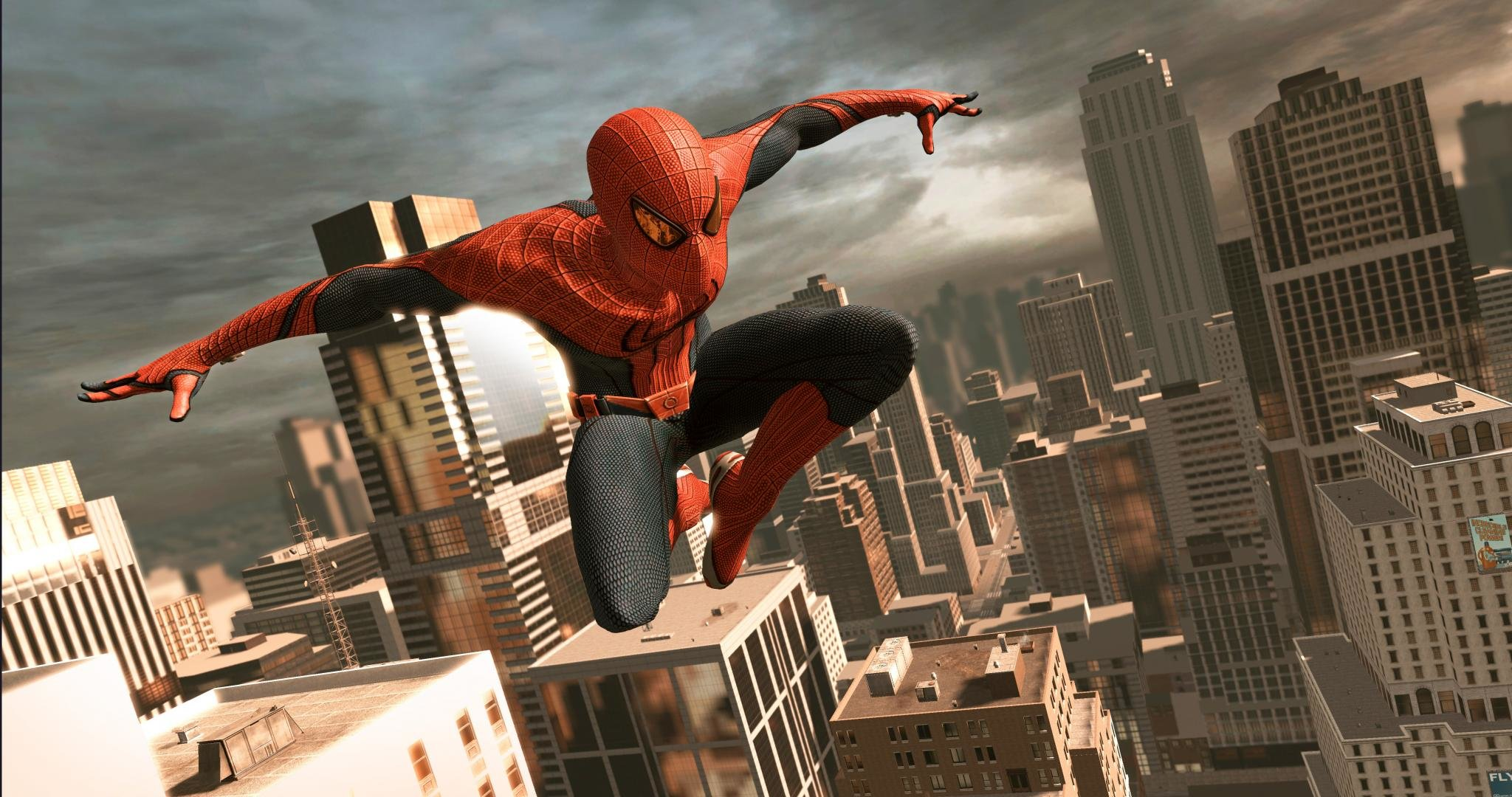 awesome spider-man movie free wallpaper id:196082 for hd 2048x1080 pc