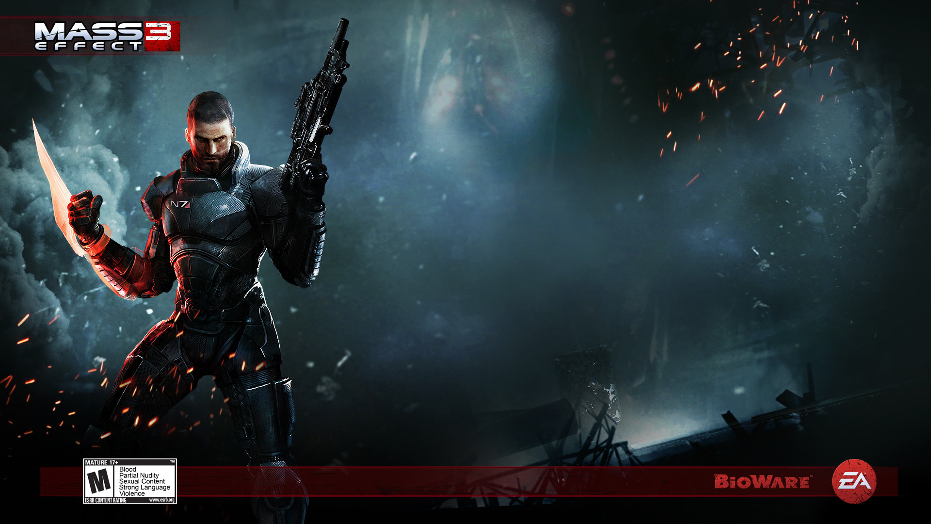 Best Mass Effect 3 Wallpaper Id 191700 For High Resolution Hd