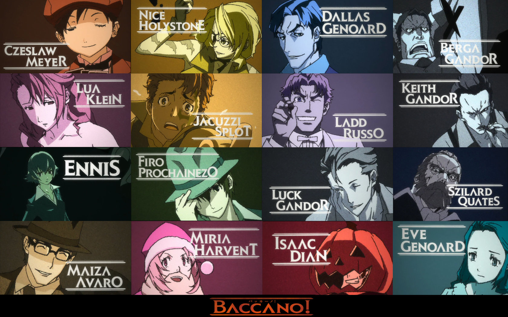 Awesome Baccano! free background ID:324366 for hd 1680x1050 desktop