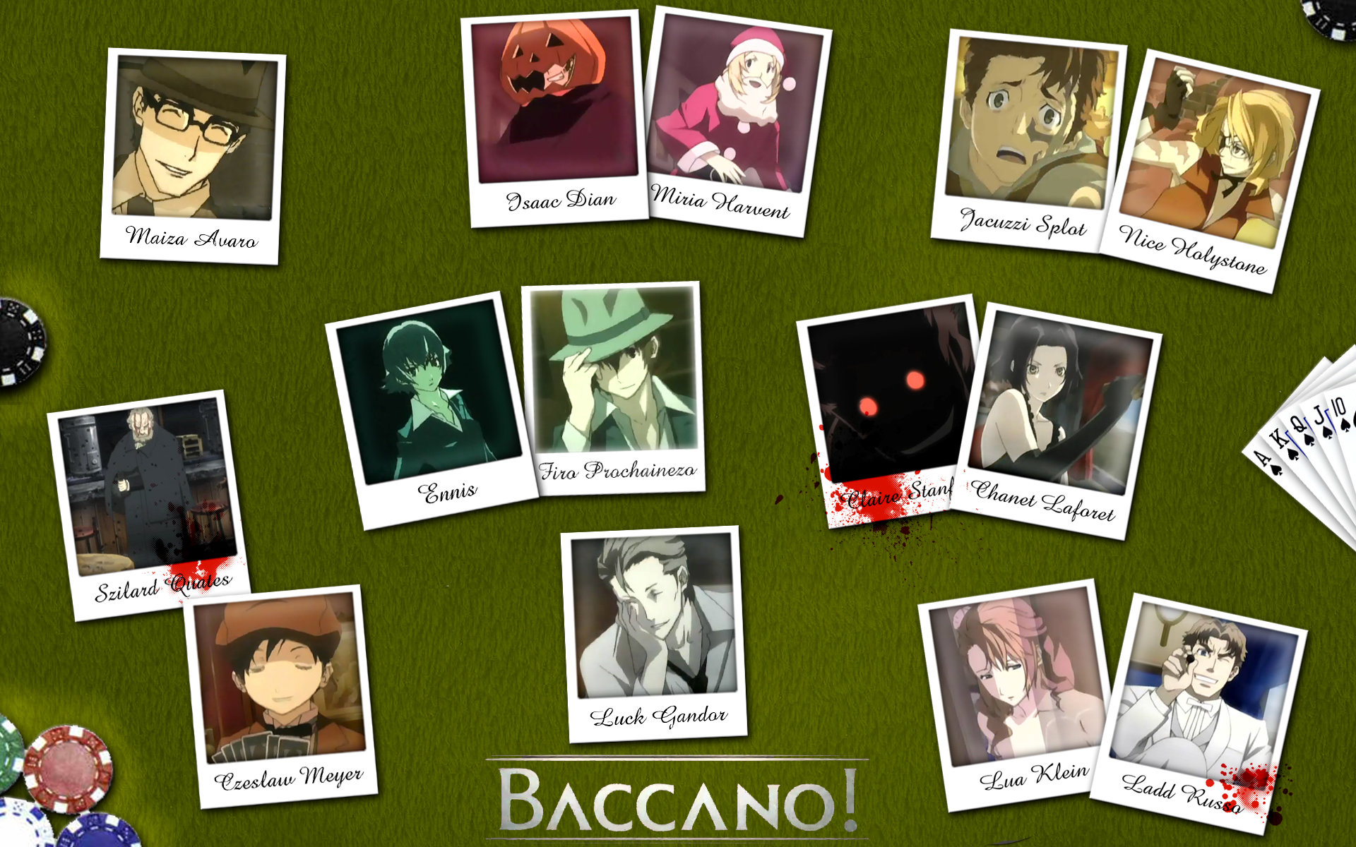 Best Baccano! wallpaper ID:324378 for High Resolution hd 1920x1200 PC