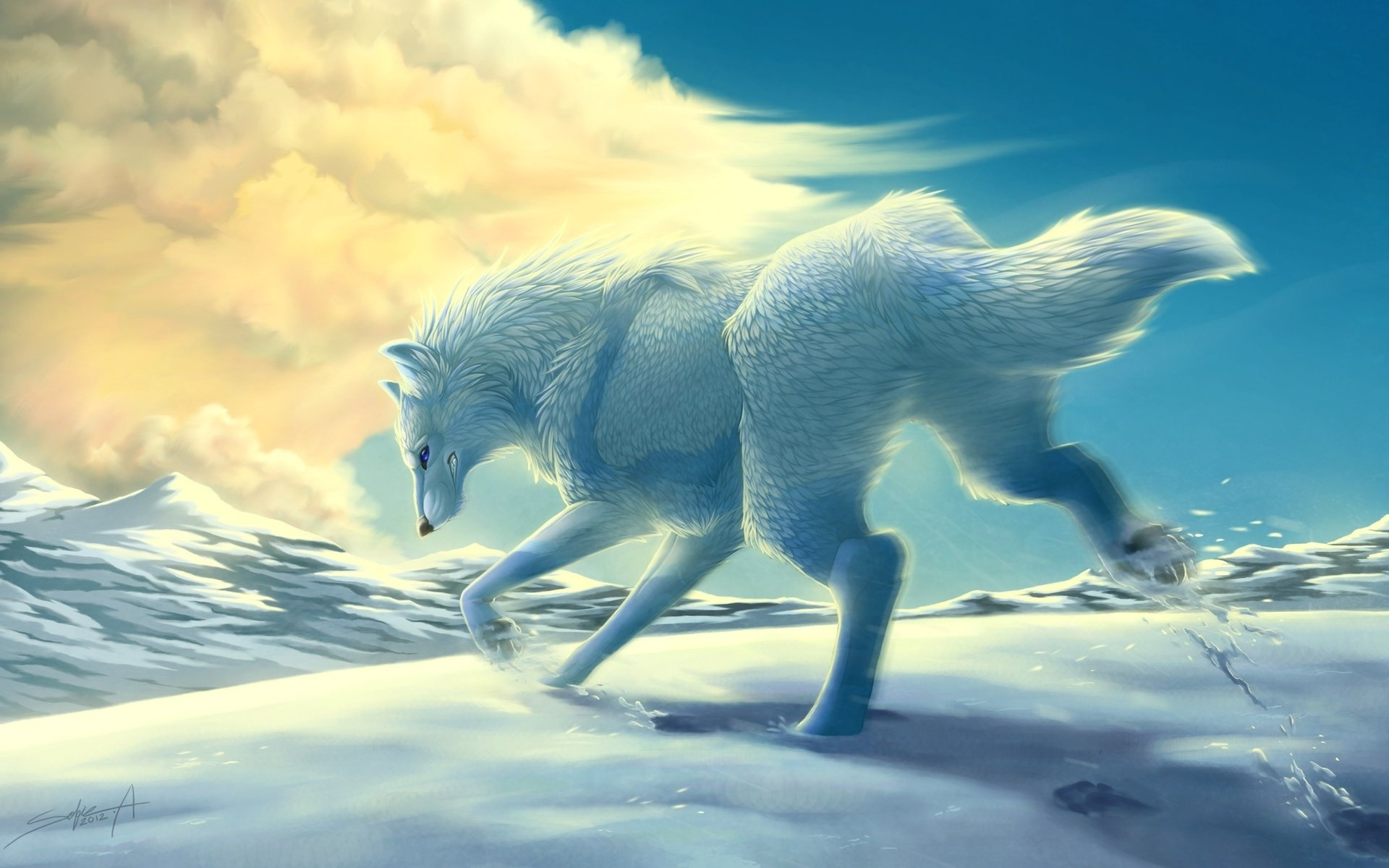 Free Wolf high quality wallpaper ID:117971 for hd 1920x1200 PC