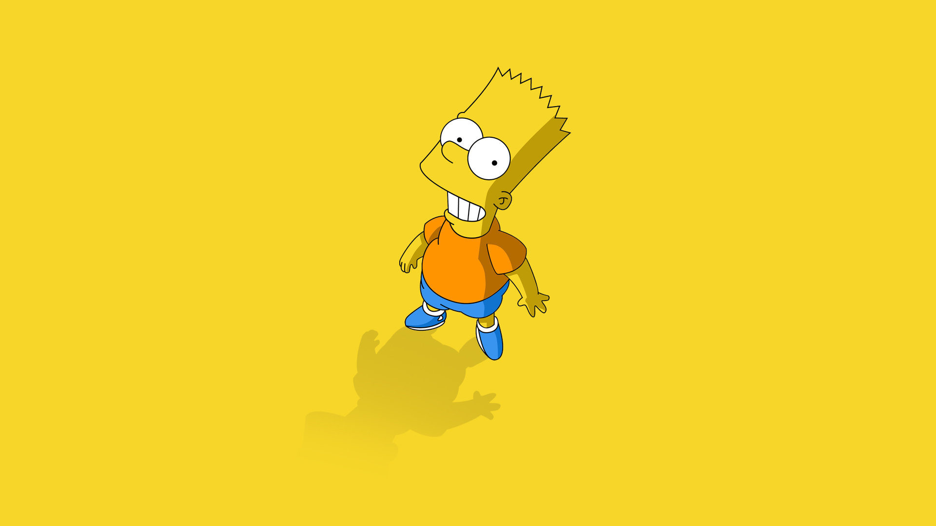 Download Full Hd 1920x1080 Bart Simpson PC Background ID351659 For Free