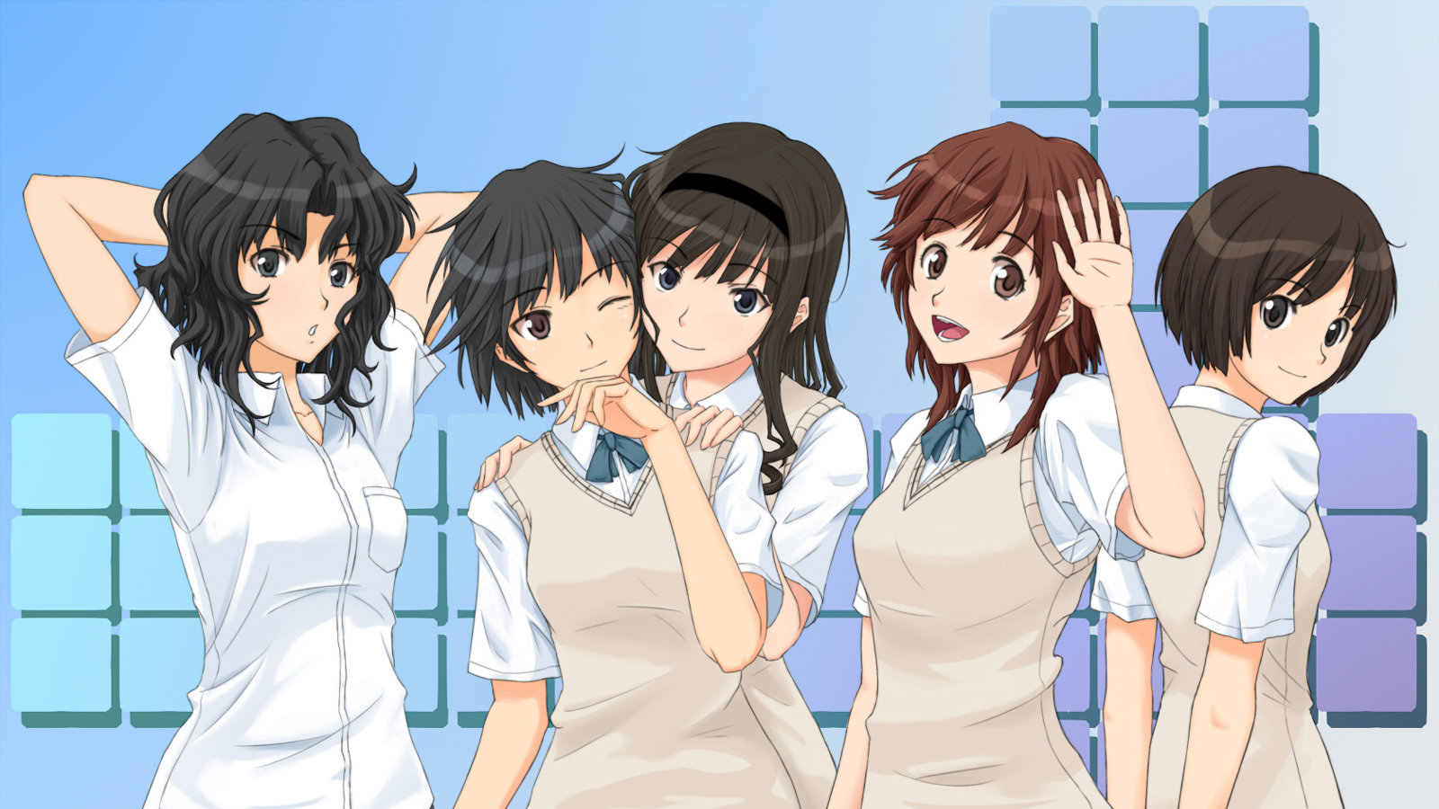 Awesome Amagami SS free wallpaper ID:253165 for hd 1600x900 computer