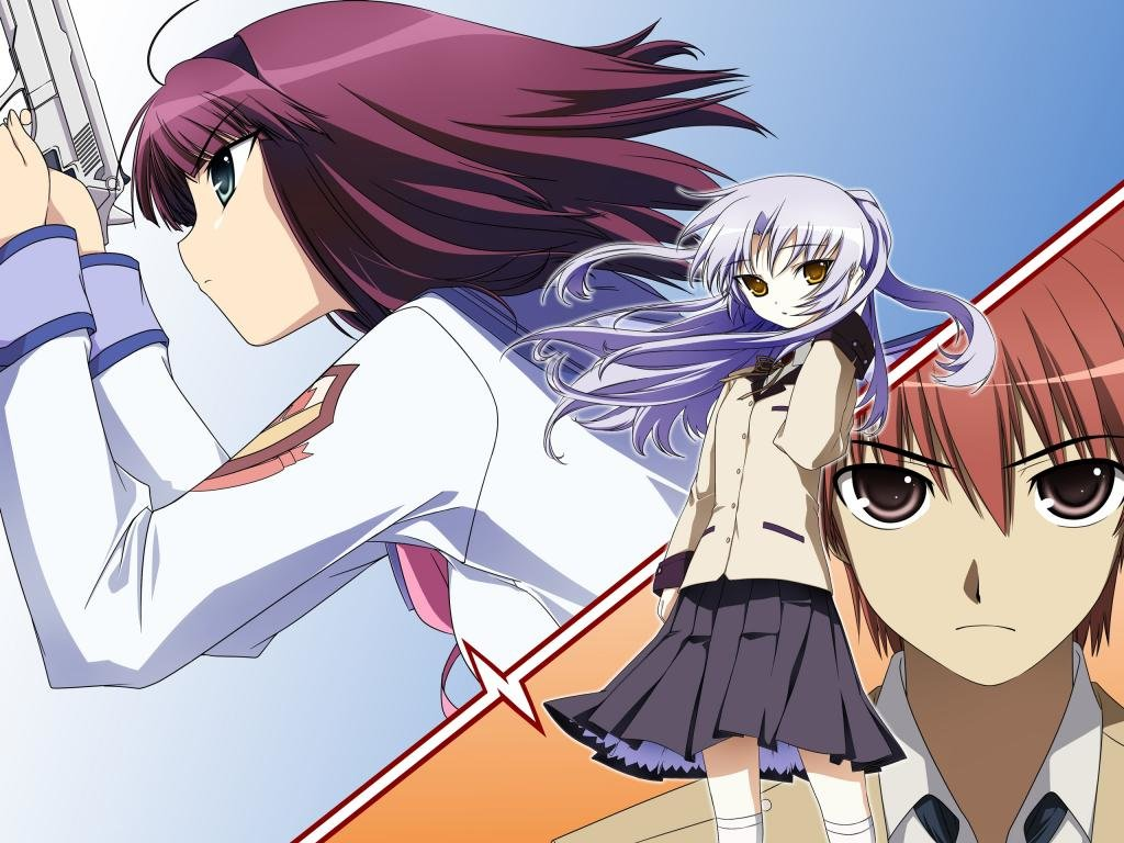 High resolution Angel Beats! hd 1024x768 background ID:235862 for desktop
