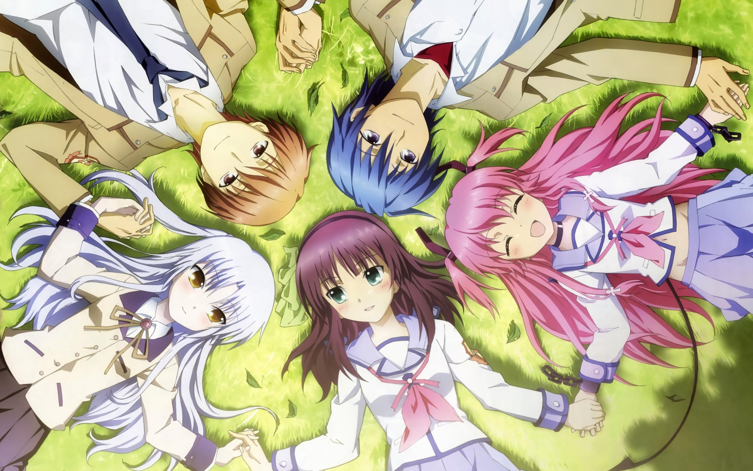 Free download Angel Beats! background ID:235669 hd 2560x1600 for PC