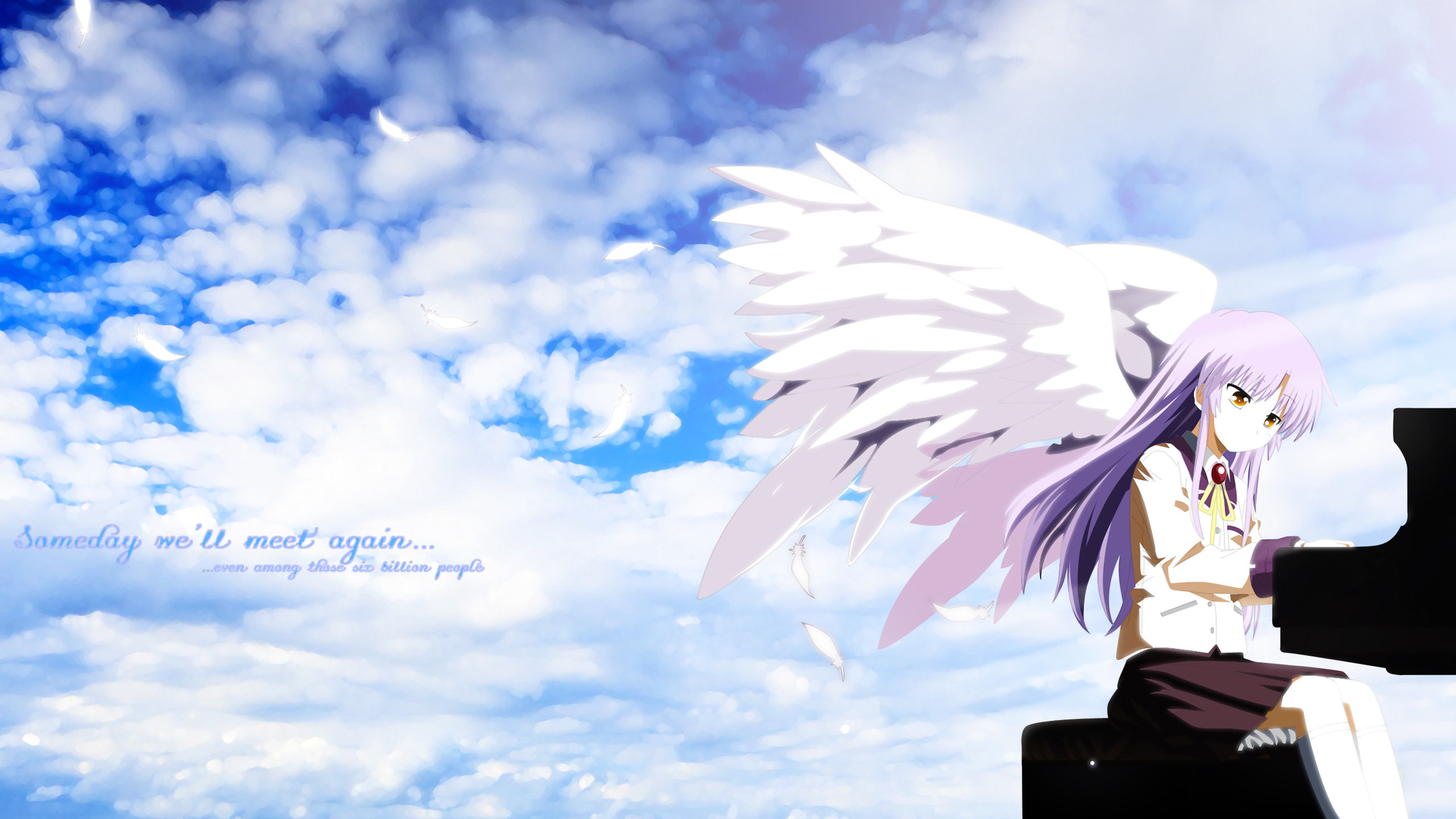 Free download Kanade Tachibana background ID:235451 hd 2560x1440 for PC