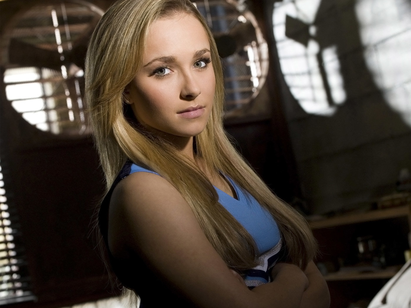 Download hd 1400x1050 Hayden Panettiere computer background ID:350429 for free