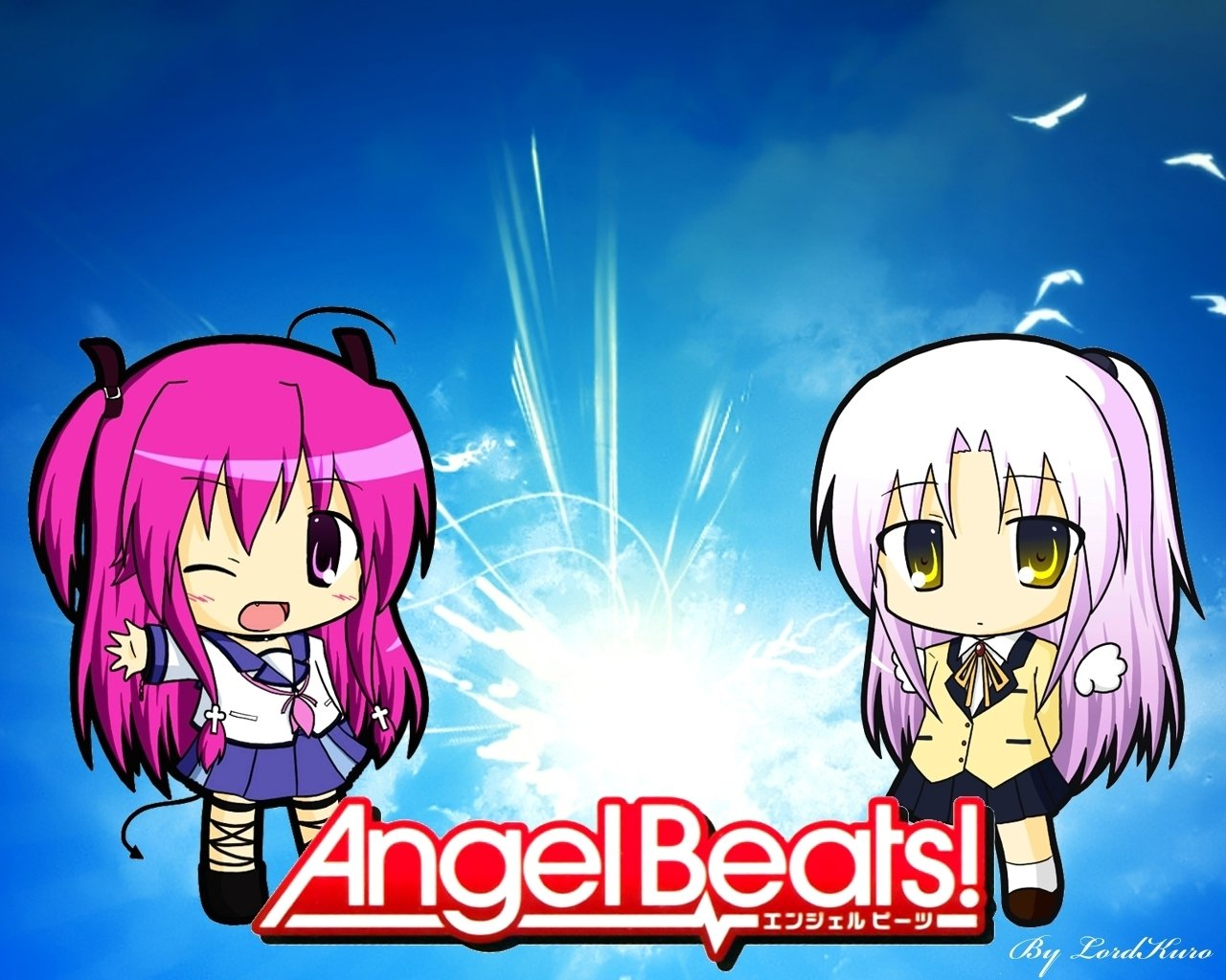 Download hd 1280x1024 Angel Beats! PC background ID:235401 for free