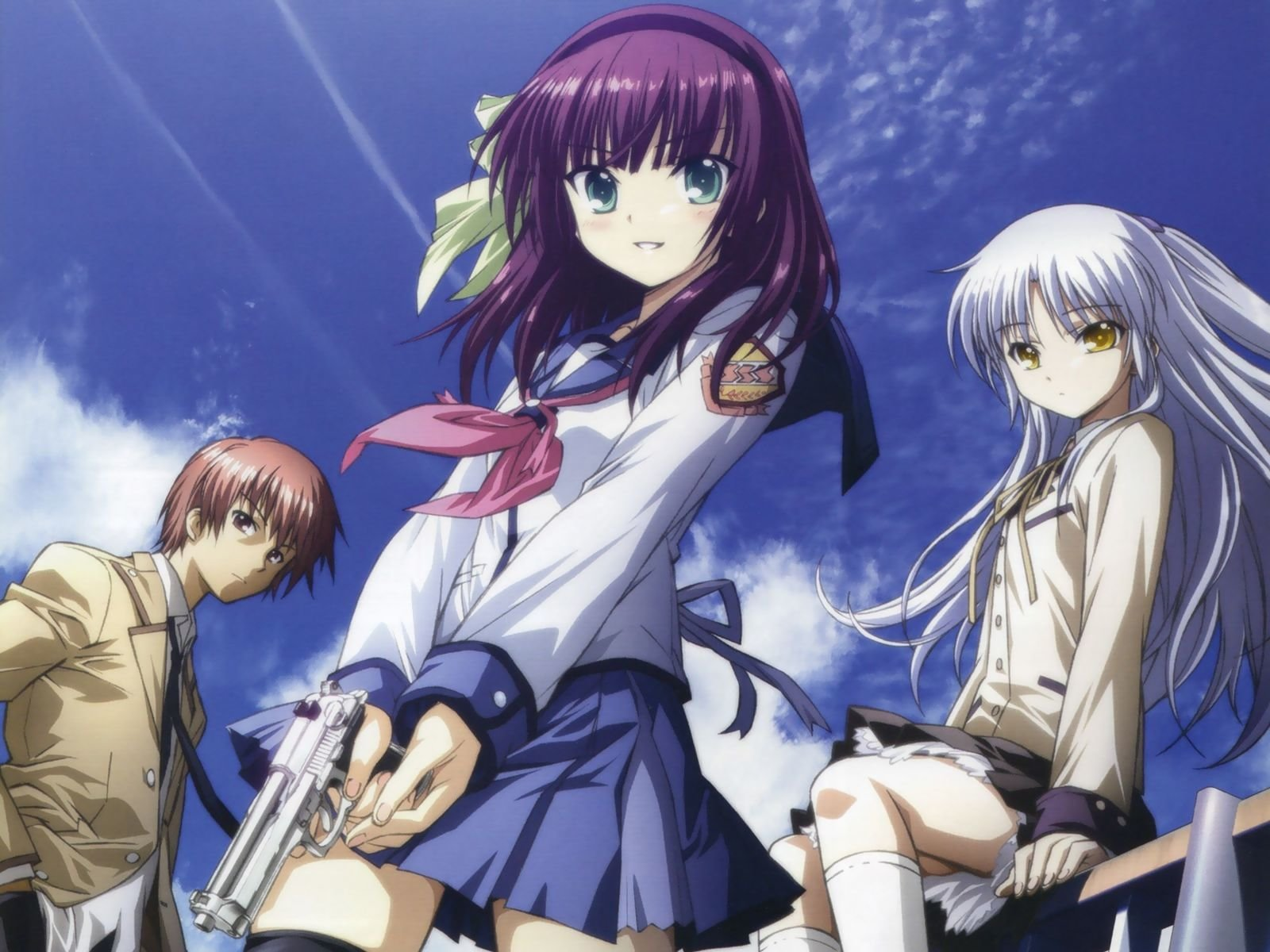 Free Angel Beats! high quality background ID:235190 for hd 1600x1200 computer