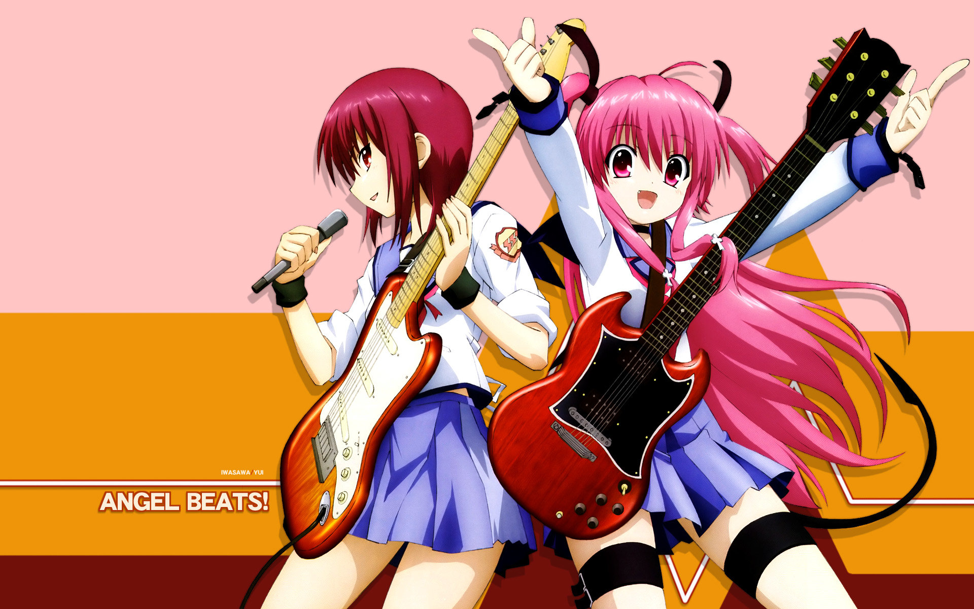 High resolution Angel Beats! hd 1920x1200 background ID:235334 for PC