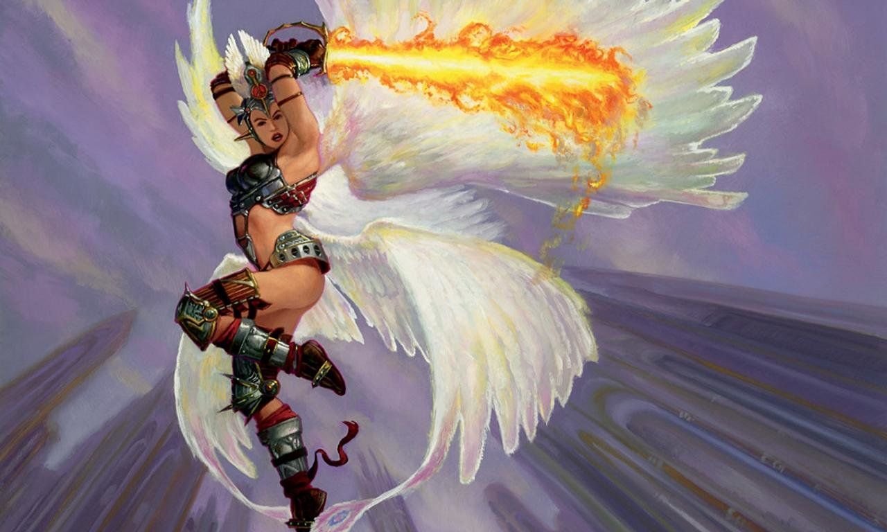 Free Angel Warrior high quality background ID:352398 for hd 1280x768 computer