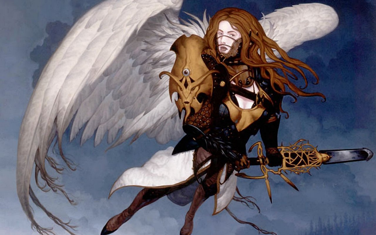 Free Angel Warrior high quality wallpaper ID:352387 for hd 1280x800 desktop
