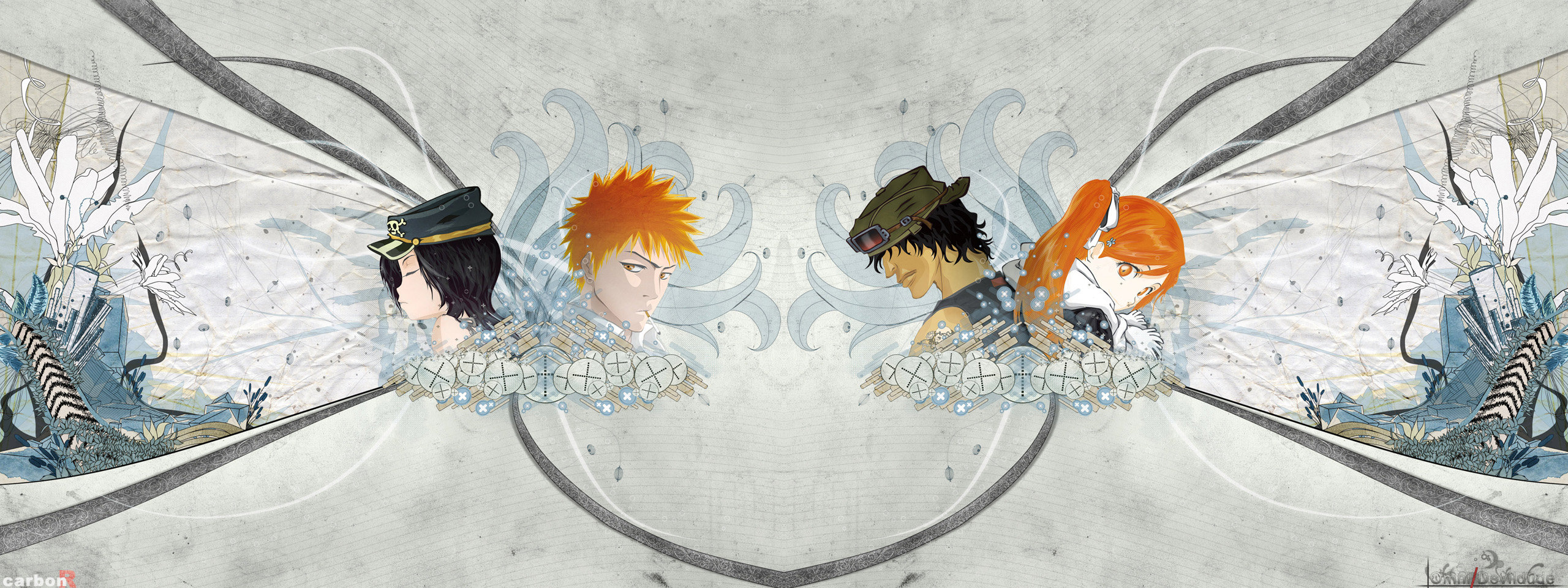 Best Bleach wallpaper ID:411167 for High Resolution dual monitor 2560x960 computer