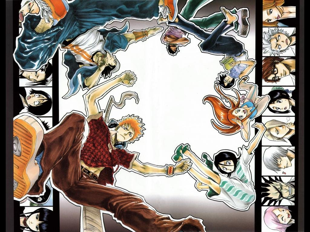 Free download Bleach wallpaper ID:416676 hd 1024x768 for PC