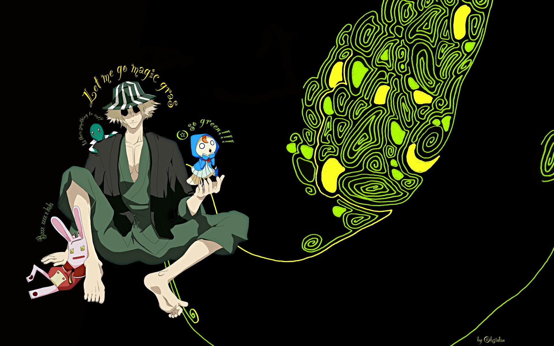 Awesome Kisuke Urahara free wallpaper ID:411328 for hd 1920x1200 desktop