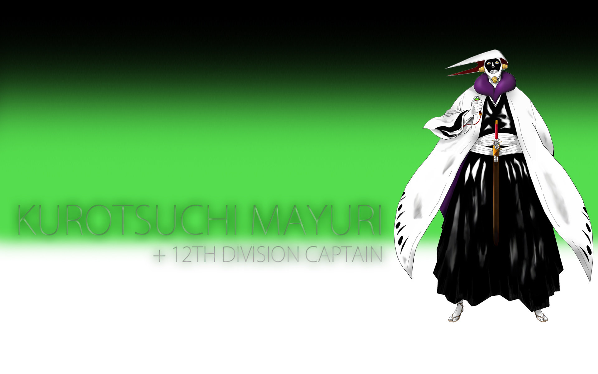 High resolution Mayuri Kurotsuchi hd 1920x1200 background ID:417009 for PC