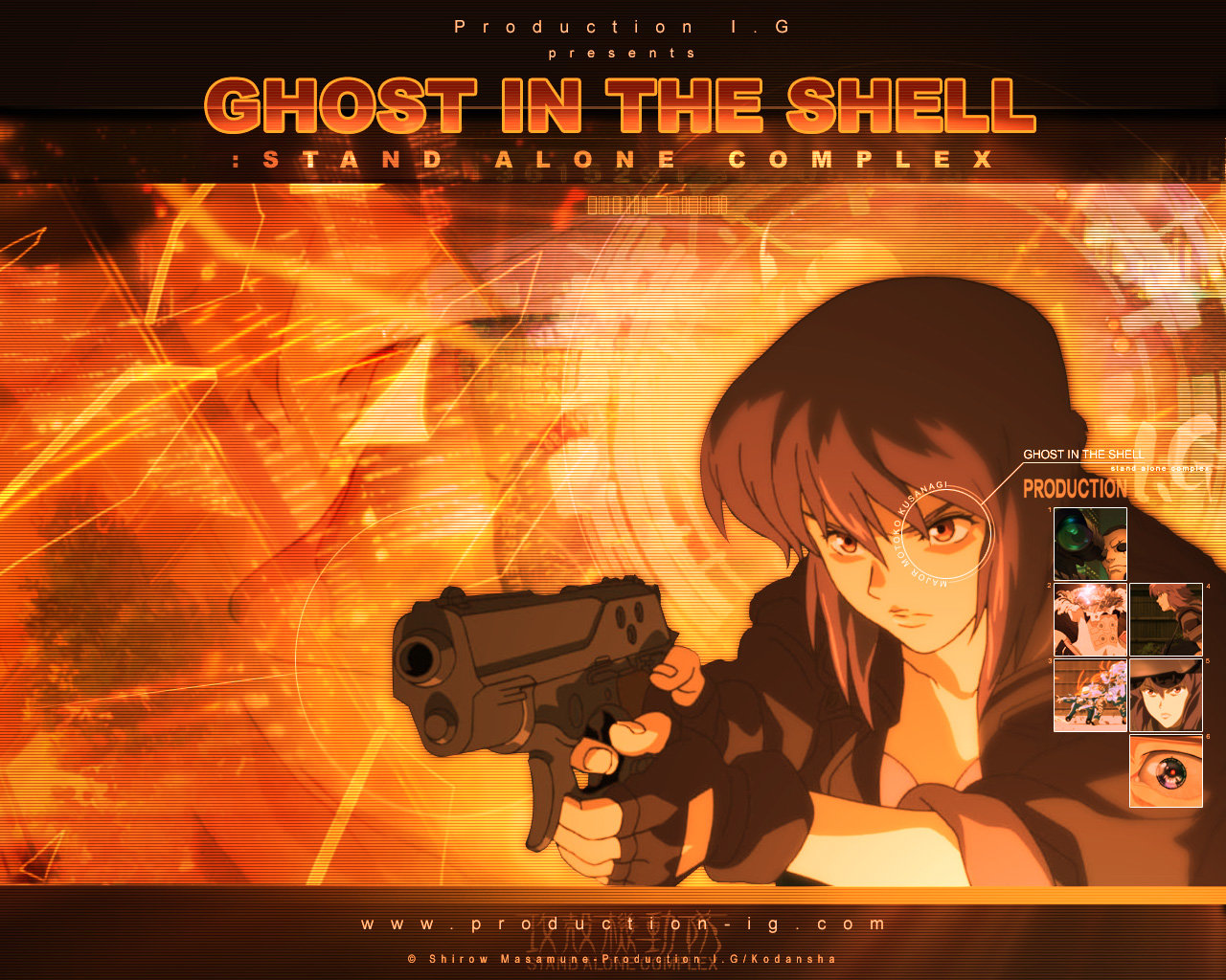 Best Ghost In The Shell background ID:442016 for High Resolution hd 1280x1024 desktop