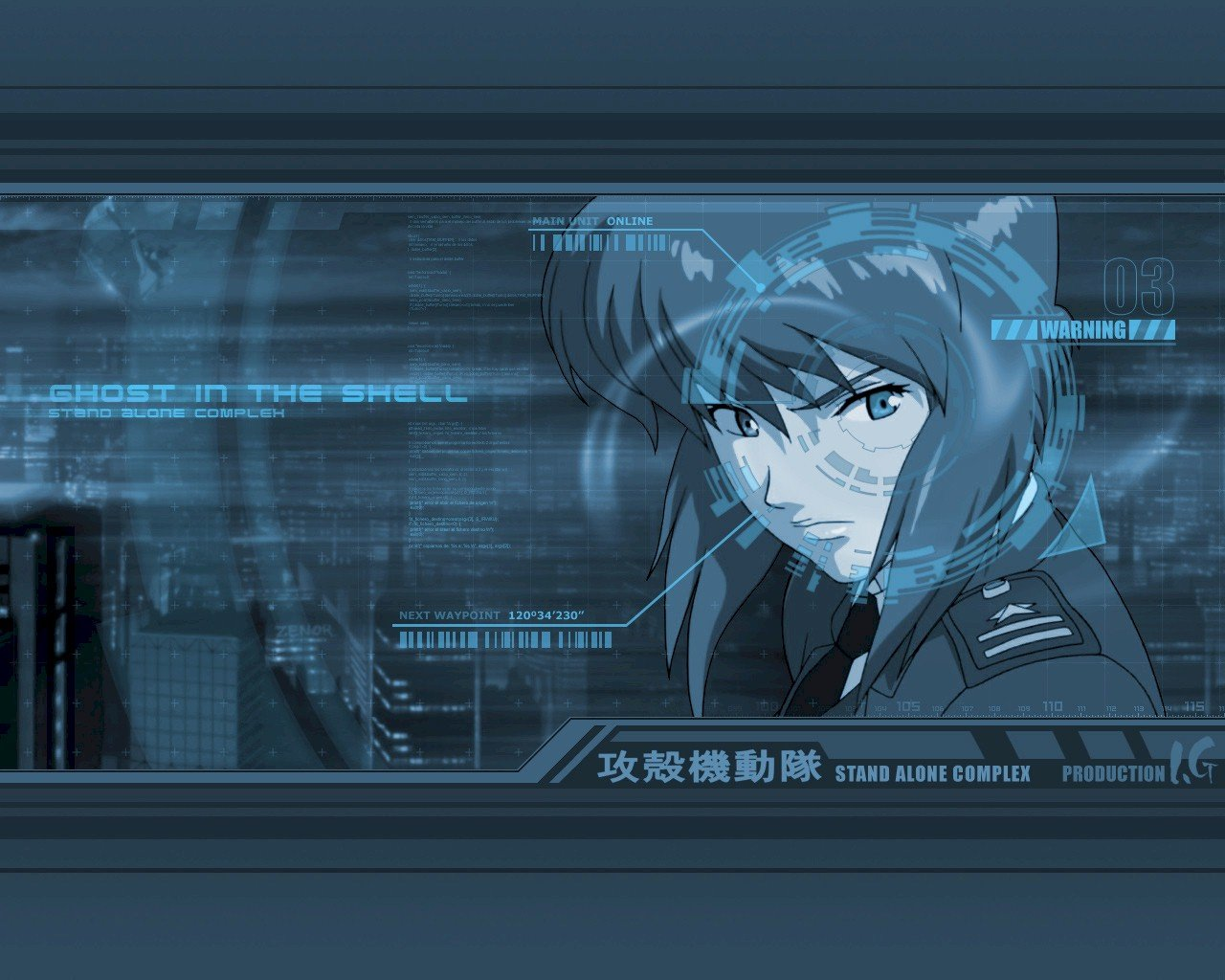 Awesome Ghost In The Shell free background ID:442049 for hd 1280x1024 PC
