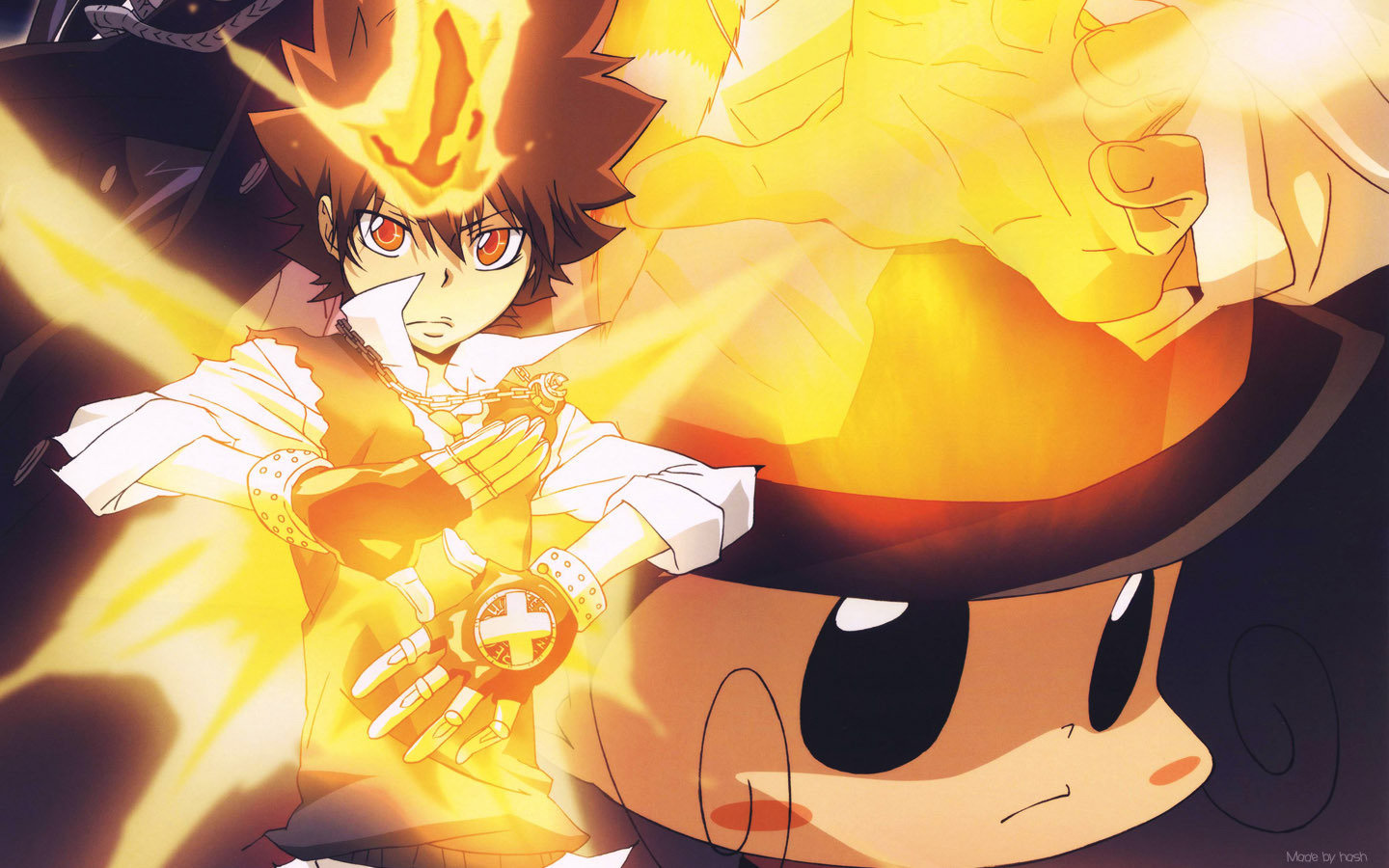 Best Katekyo hitman reborn background ID:146195 for High Resolution hd 1440x900 computer