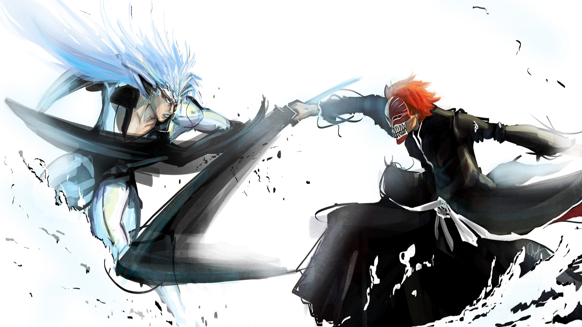 Free Grimmjow Jaegerjaquez high quality wallpaper ID:417031 for 1080p desktop