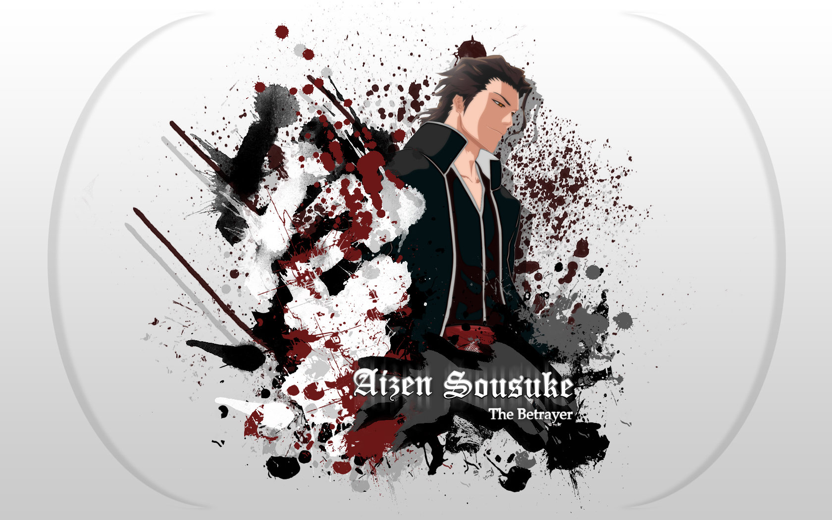 Download hd 1680x1050 Sosuke Aizen computer background ID:418378 for free