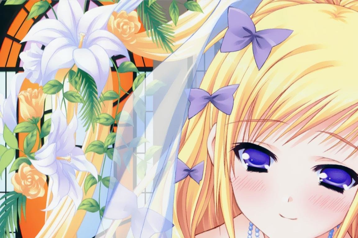 High resolution Anime Girl hd 1152x768 wallpaper ID:151203 for PC