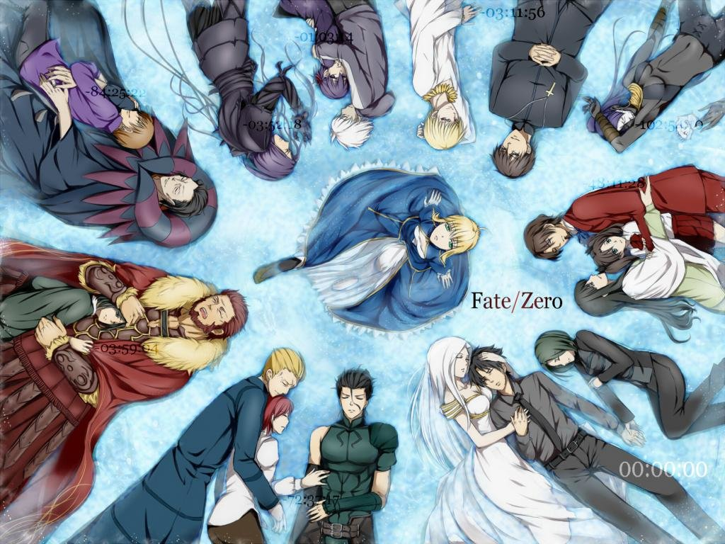Download hd 1024x768 Fate/Zero PC wallpaper ID:87373 for free