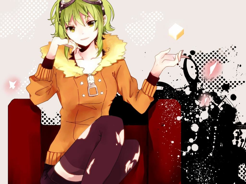 Awesome GUMI (Vocaloid) free background ID:2659 for hd 1024x768 desktop