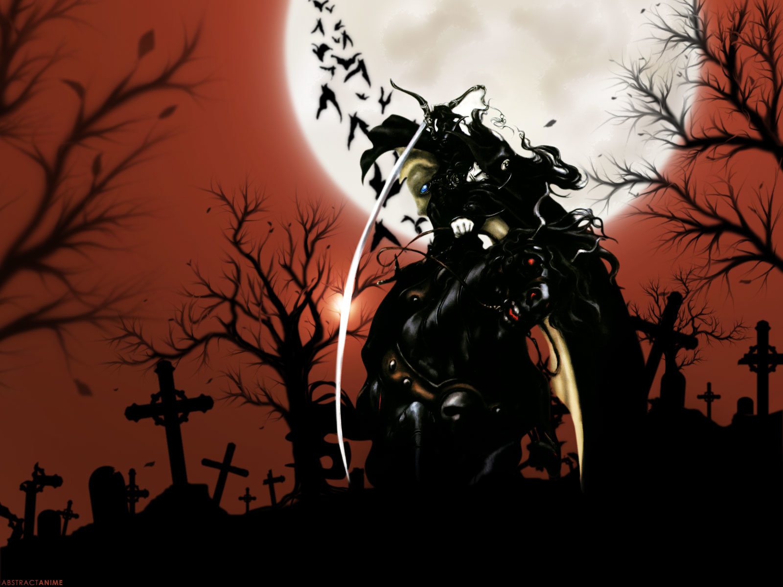 Free Vampire Hunter D high quality wallpaper ID:451013 for hd 1600x1200 PC