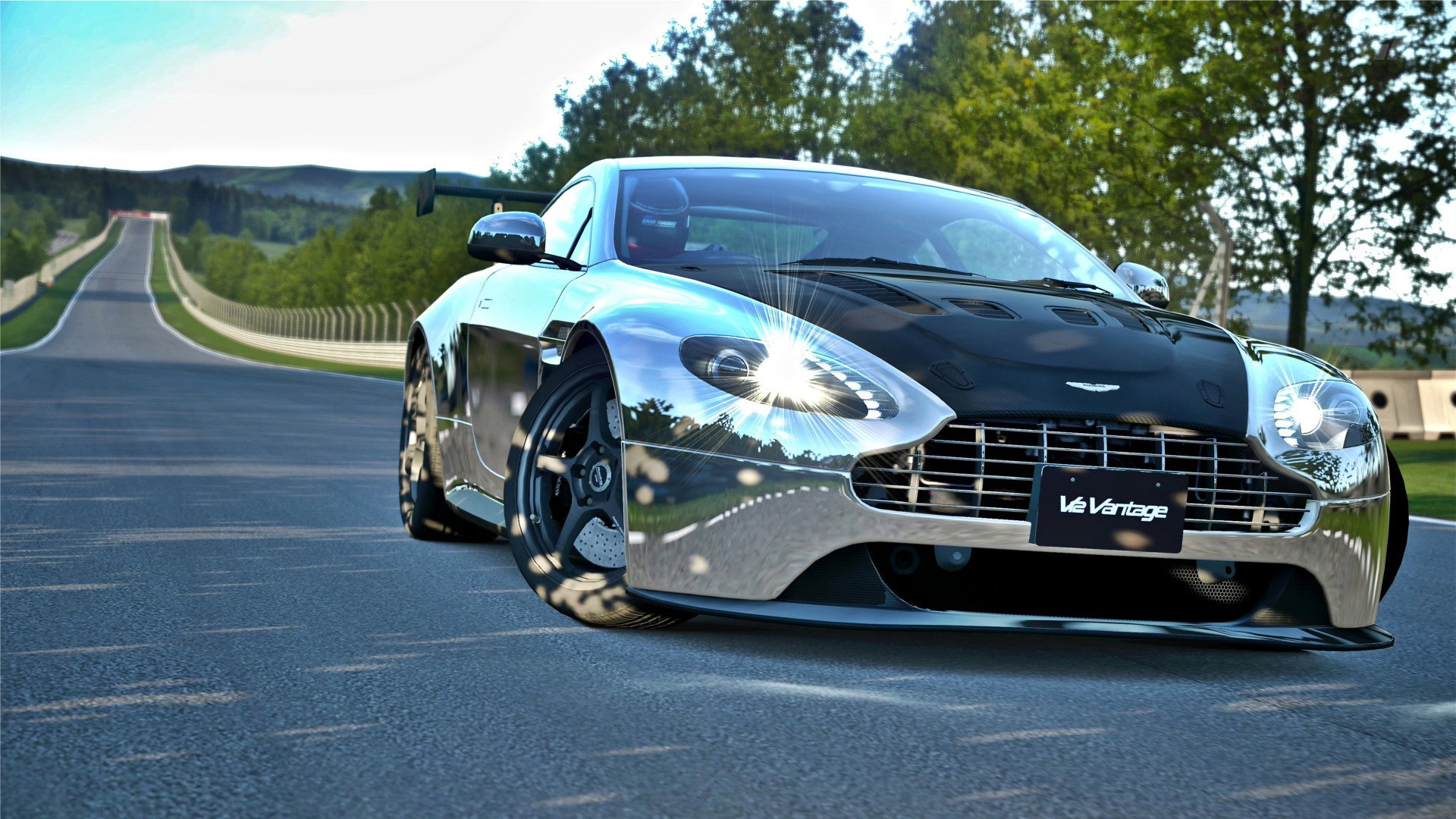 Aston Martin Vantage iPhone Wallpaper HD Free Download