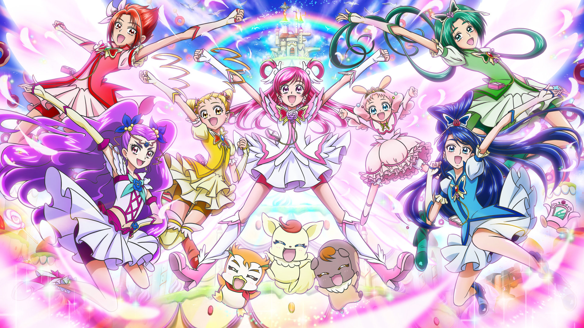 Awesome Pretty Cure! free wallpaper ID:104206 for full hd 1080p desktop
