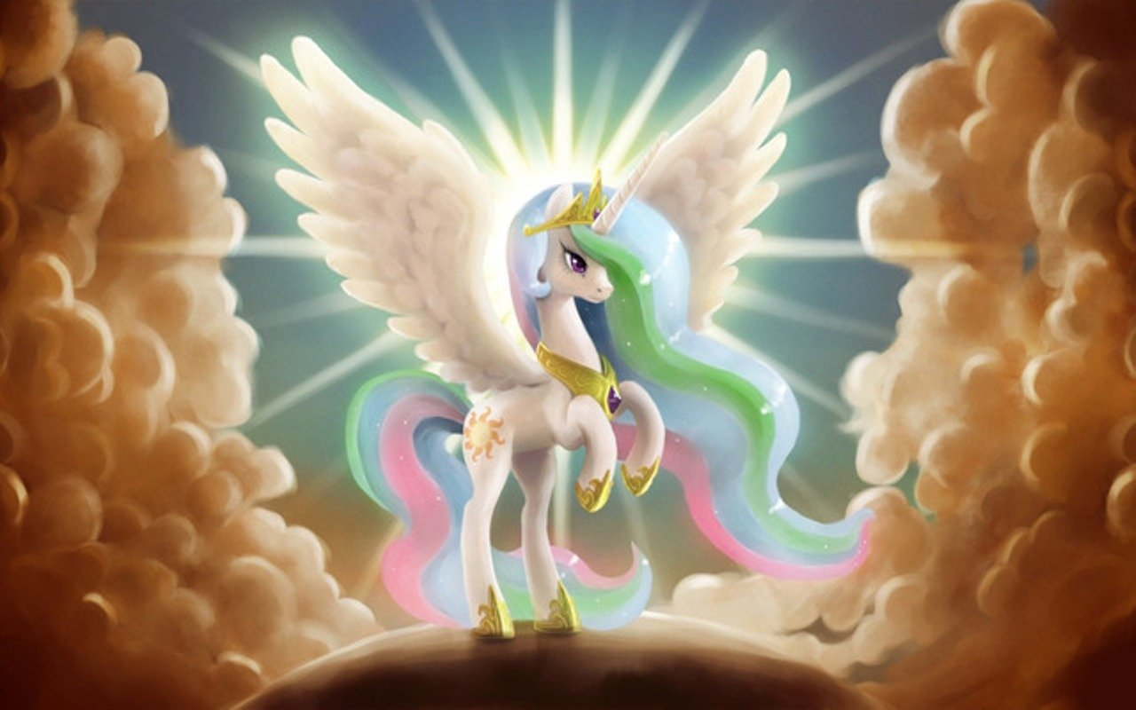 High resolution Princess Celestia hd 1280x800 wallpaper ID:154045 for computer