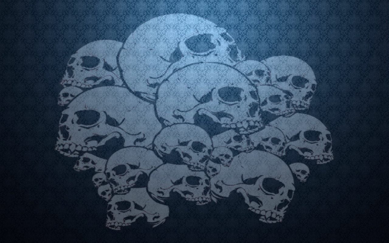 Free download Skull background ID:320423 hd 1280x800 for desktop