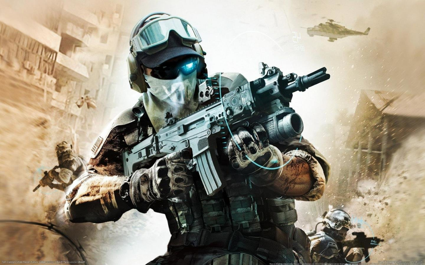 Free download Tom Clancy's Ghost Recon: Future Soldier wallpaper ID:166019 hd 1440x900 for PC