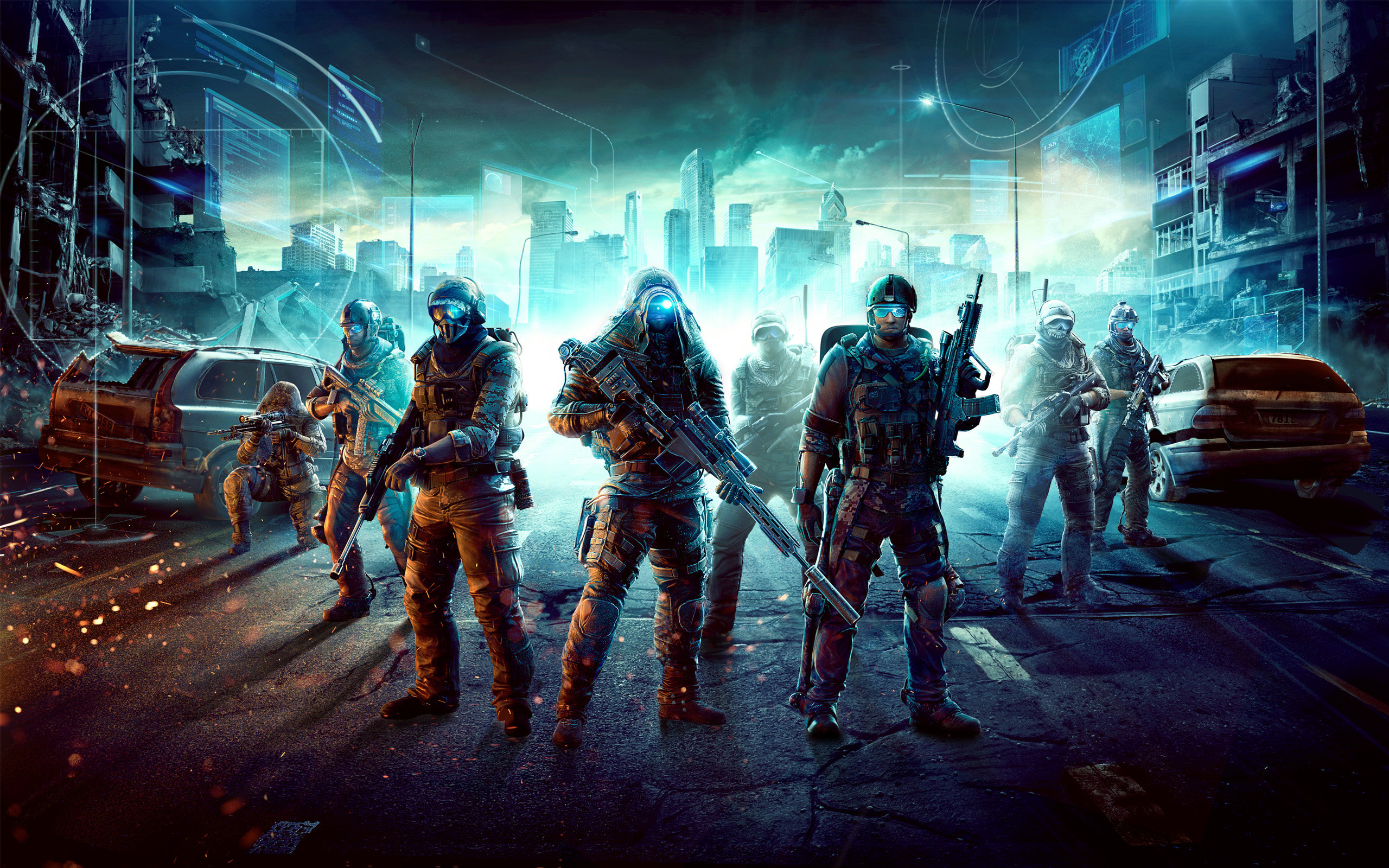 Free Download Tom Clancys Ghost Recon Phantoms Background ID73103 Hd 2560x1600 For Computer