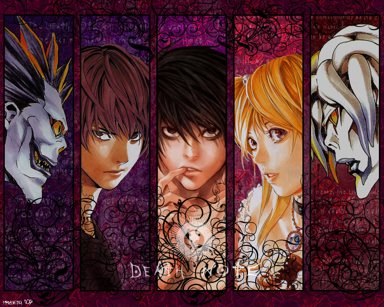 Free download Death Note background ID:402751 hd 1280x1024 for PC