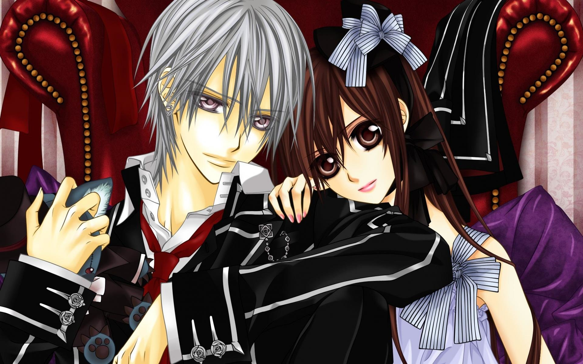 Free download Vampire Knight background ID:390483 hd 1920x1200 for PC