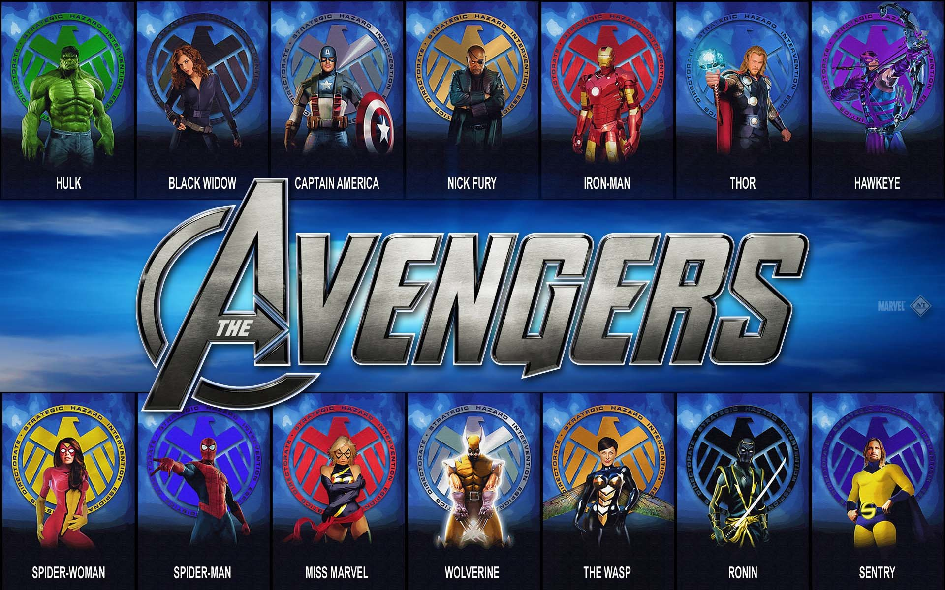 Download hd 1920x1200 Avengers comics computer wallpaper ID:334420 for free