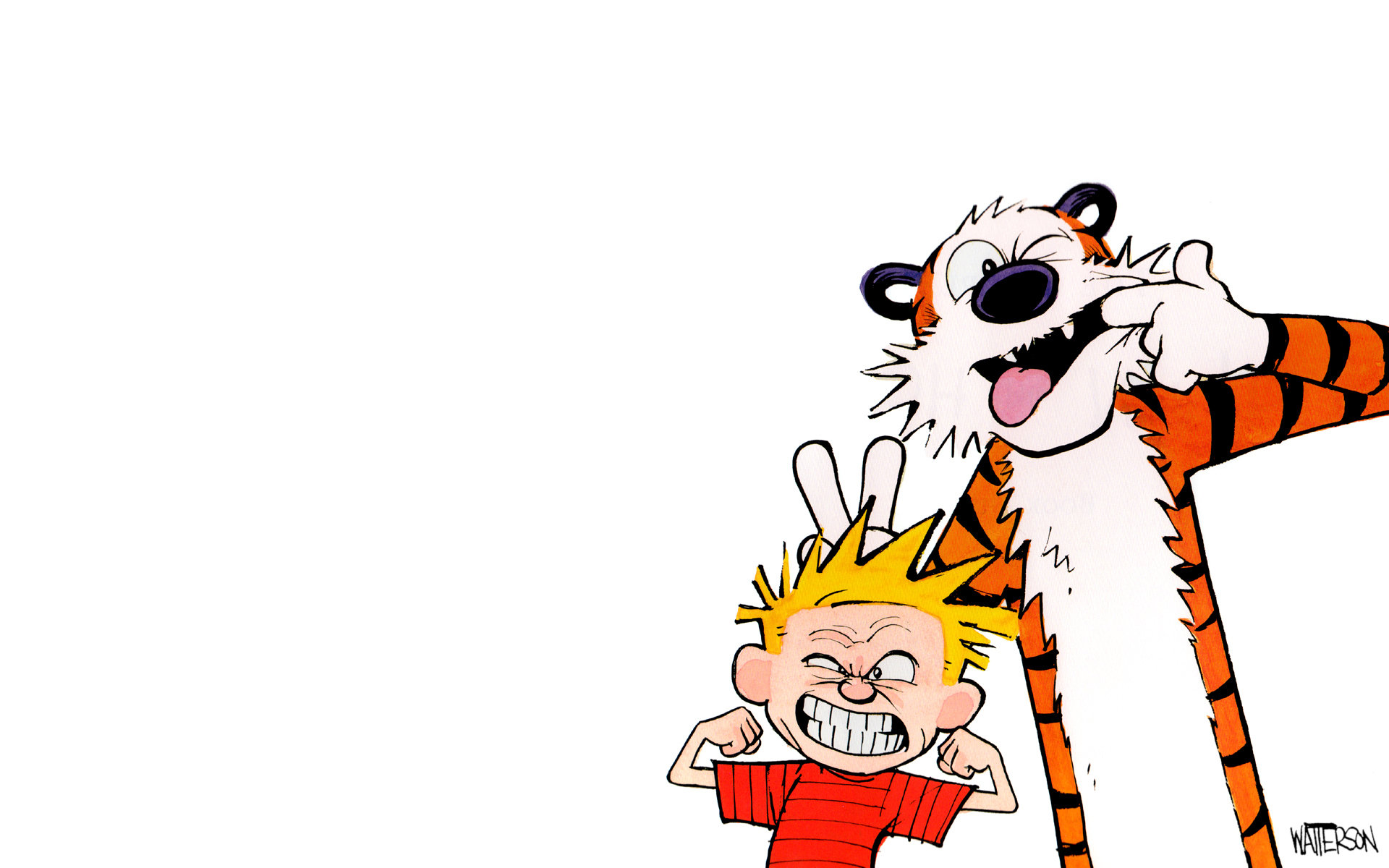 Free Calvin and Hobbes high quality wallpaper ID:211516 for hd 1920x1200 desktop