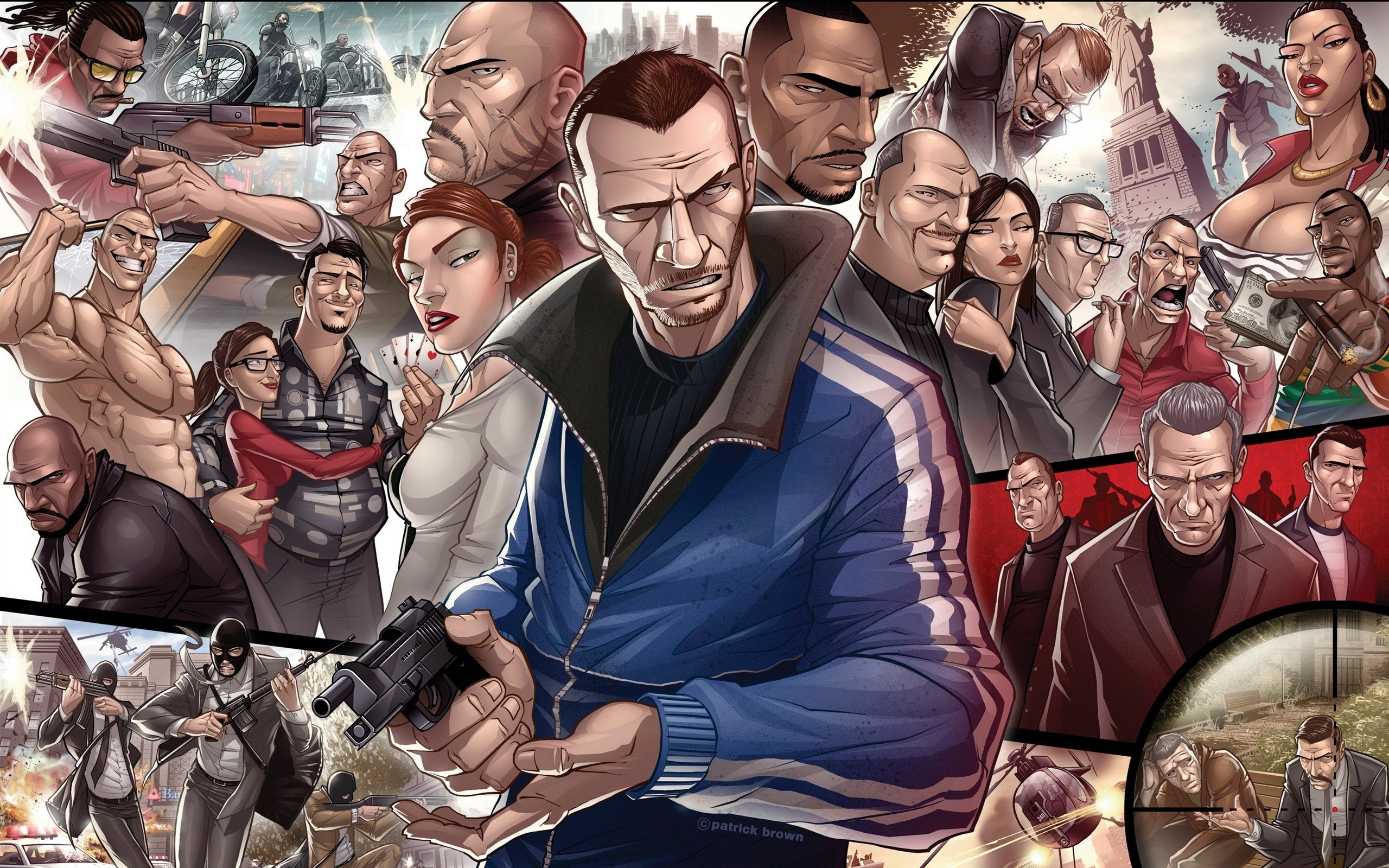 Free Grand Theft Auto Iv Gta  High Quality Wallpaper Id For Hd X Desktop