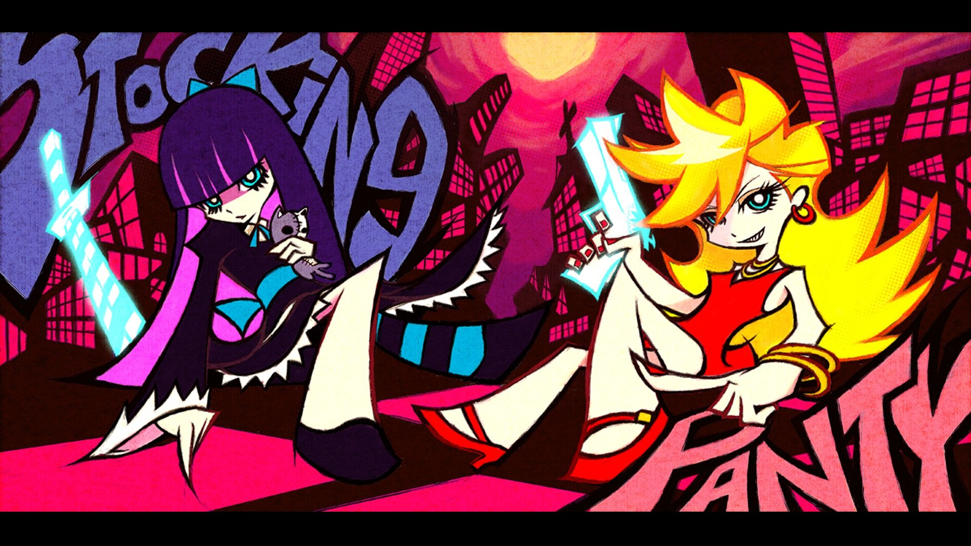 Awesome Panty and Stocking With Garterbelt free wallpaper ID:185119 for hd 1920x1080 desktop