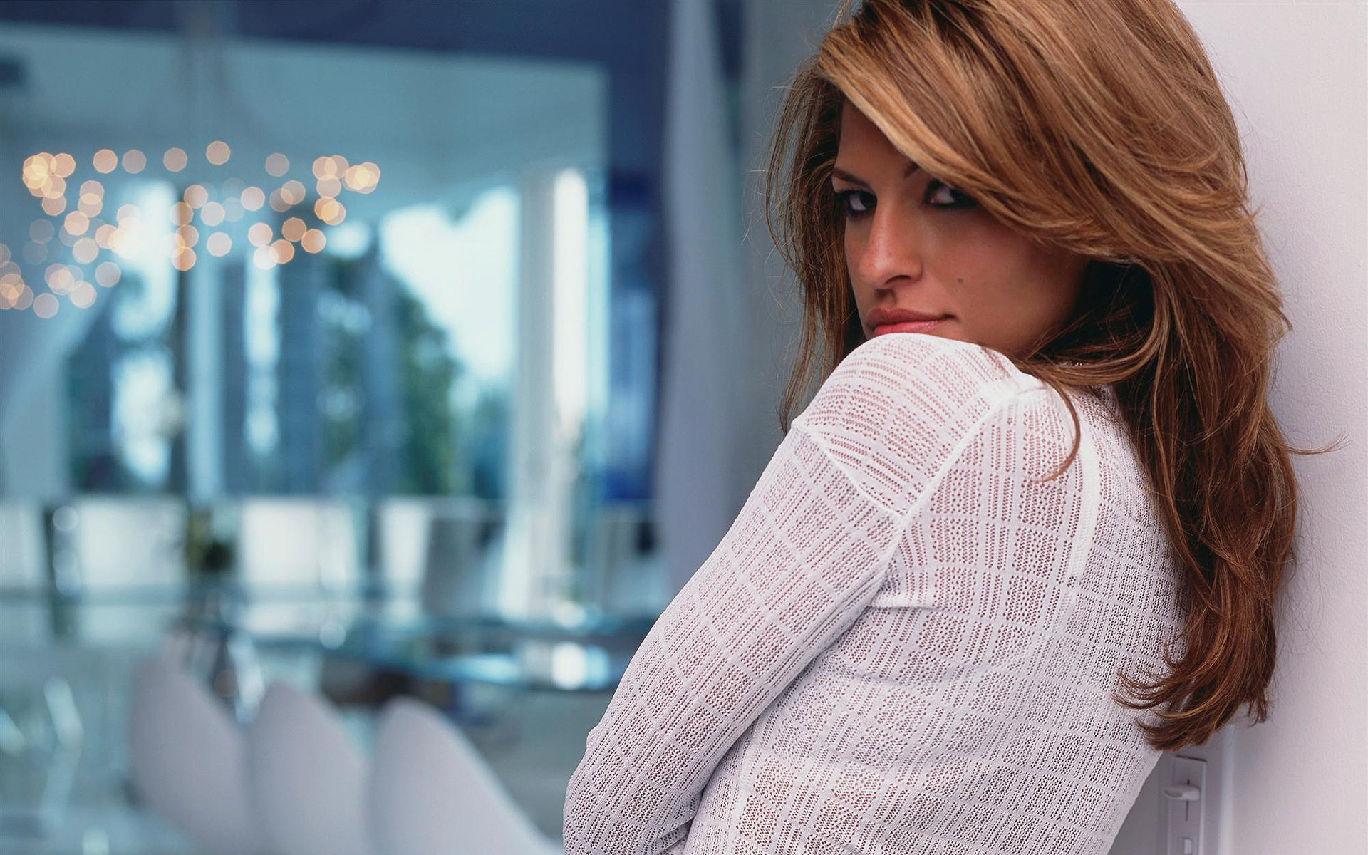 Eva Mendes HD Desktop Wallpaper for K Ultra HD TV Wide
