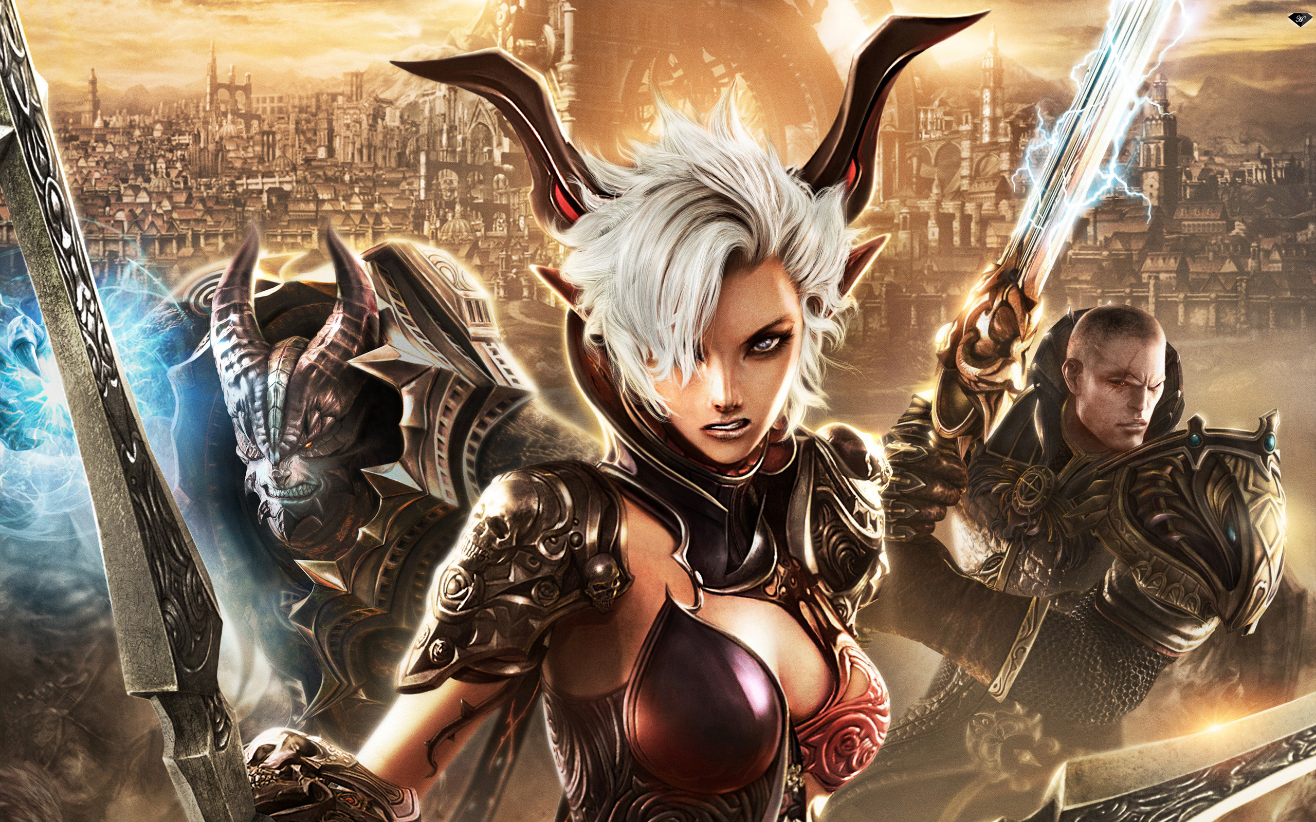 Download hd 2560x1600 Tera computer background ID:233961 for free