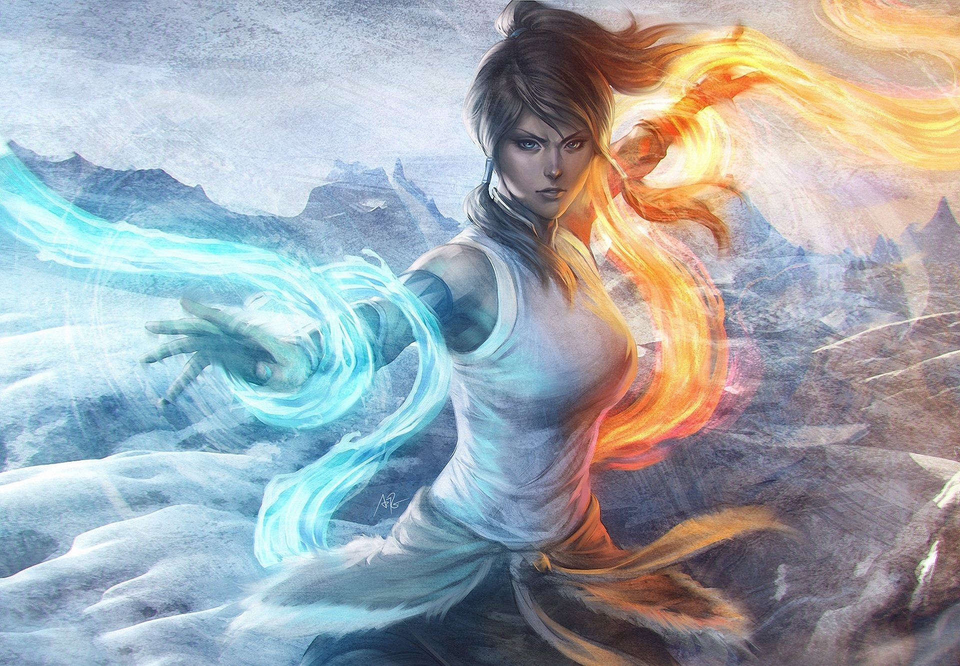 Download hd 1680x1050 Avatar: The Legend Of Korra computer wallpaper ID:243427 for free