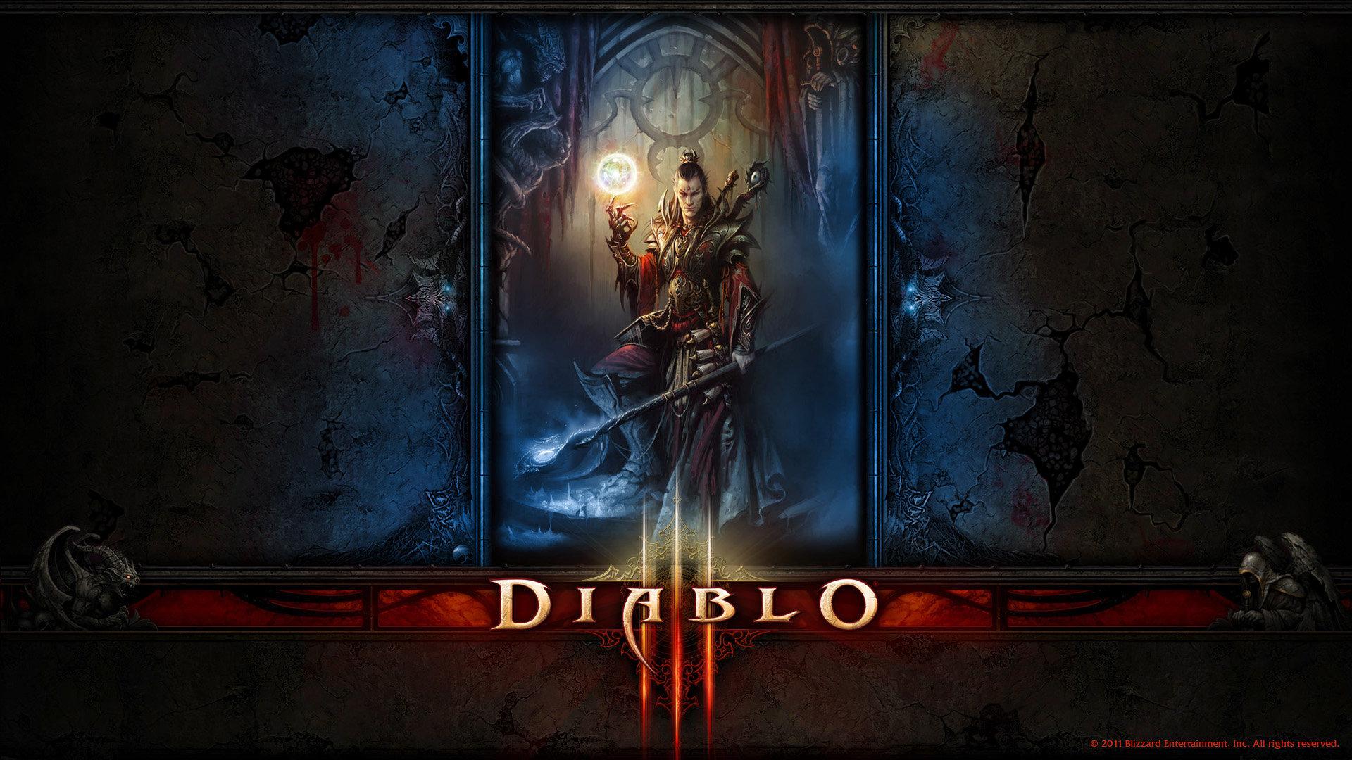 Wizard Diablo 3 Wallpapers 1920x1080 Full Hd 1080p Desktop