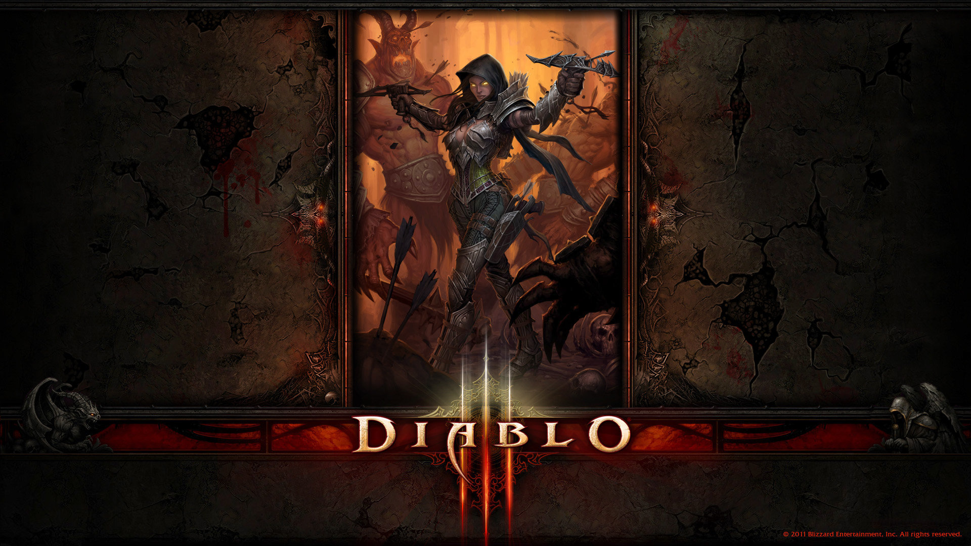 Diablo 3 wallpaper cartoon picture